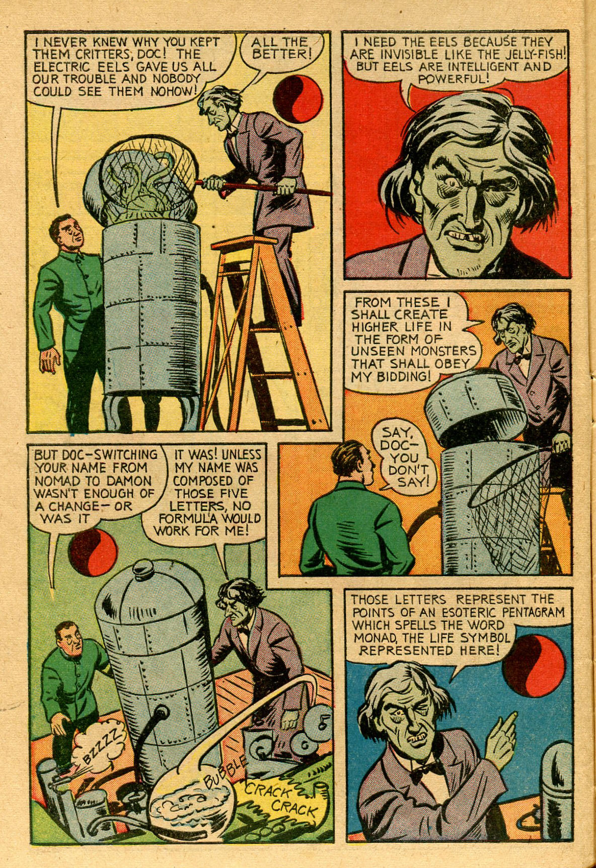 Read online Shadow Comics comic -  Issue #53 - 11