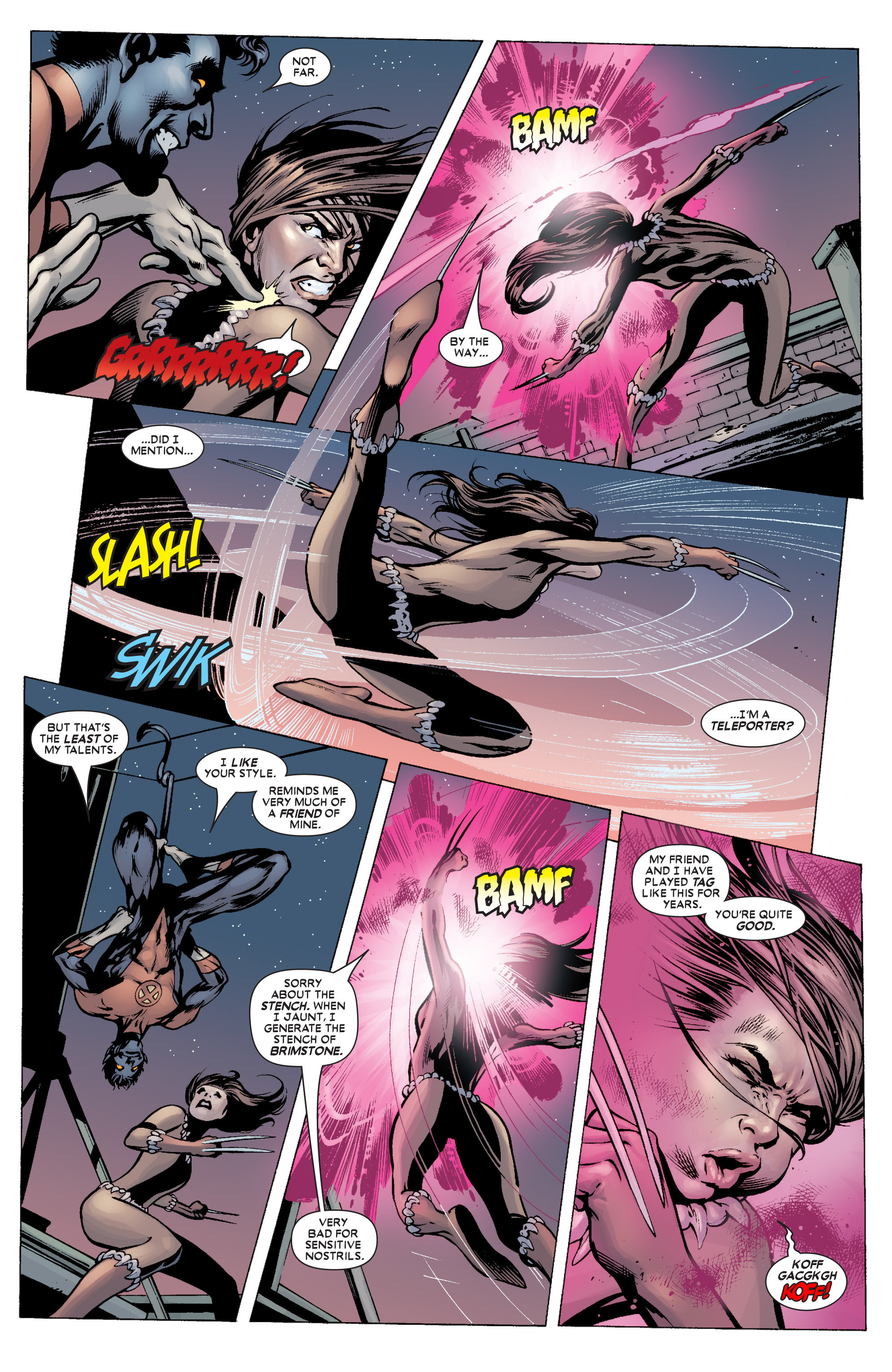Read online Uncanny X-Men (1963) comic -  Issue #451 - 10