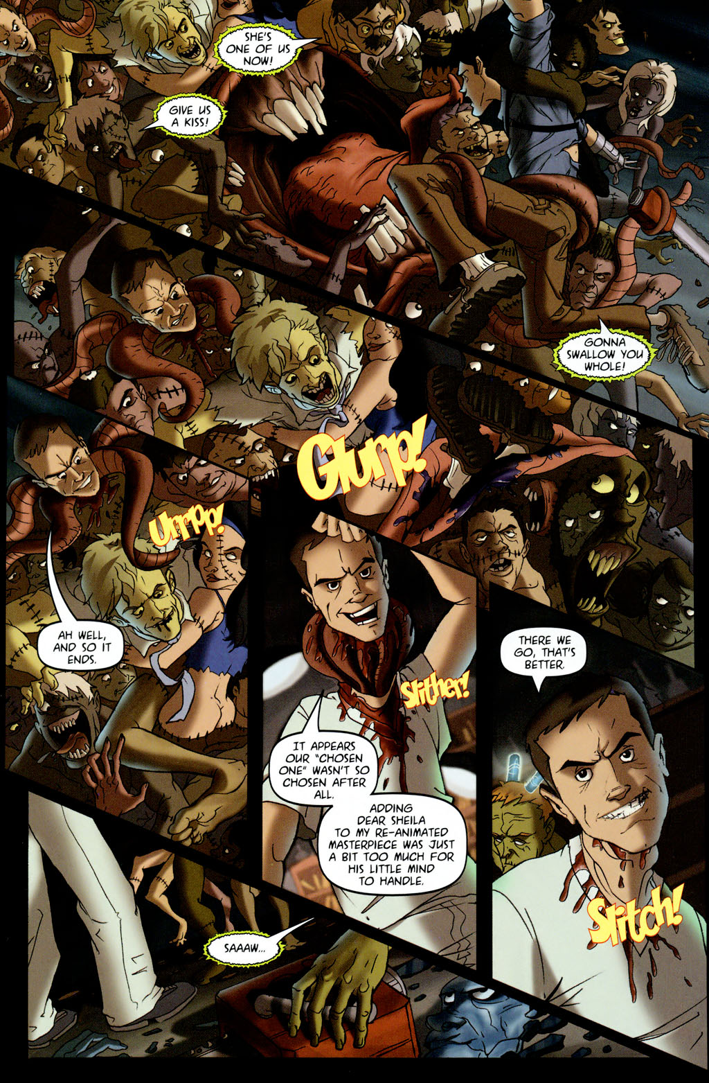 Read online Army of Darkness vs. Re-Animator comic -  Issue #4 - 17