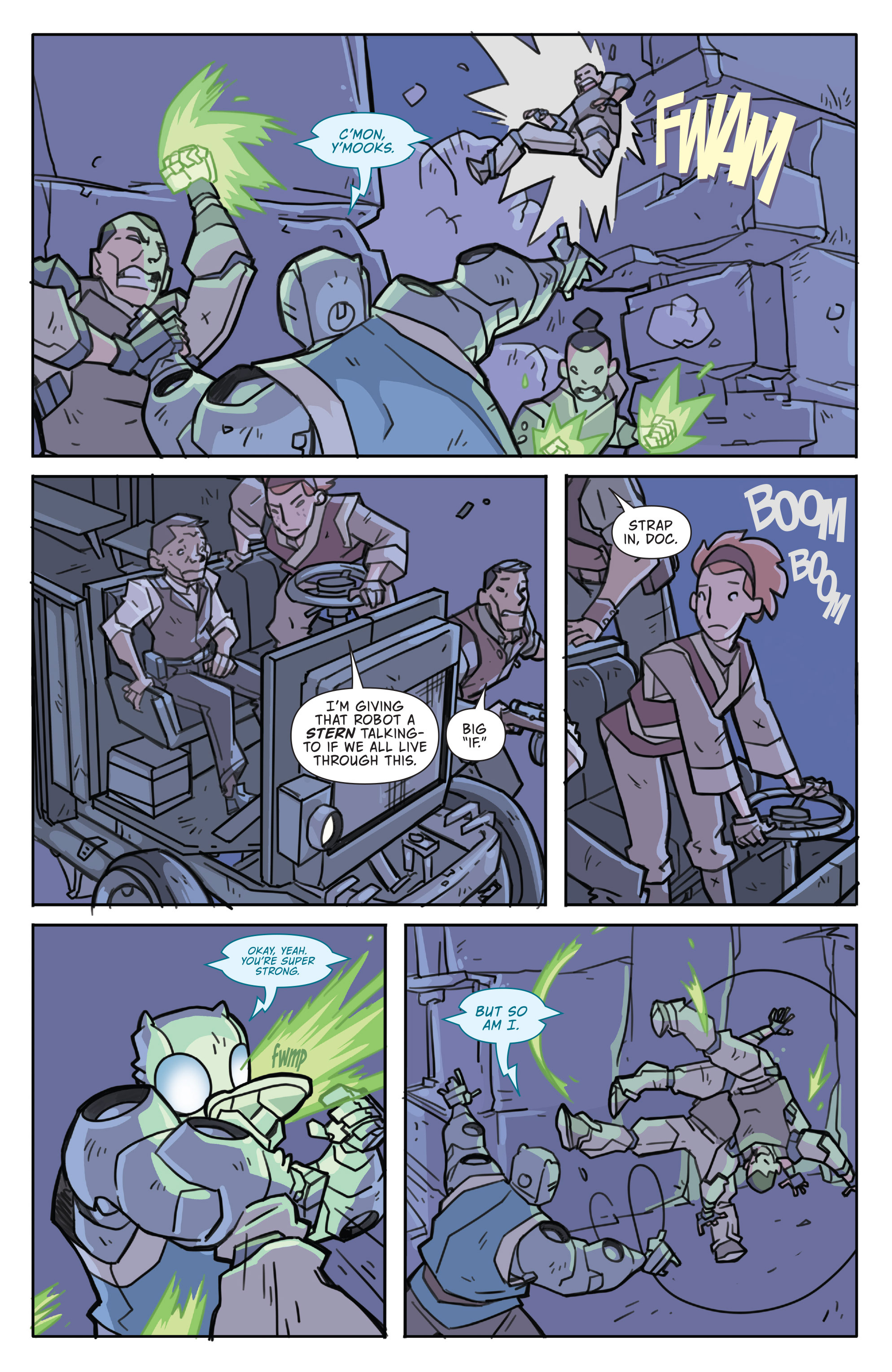 Read online Atomic Robo and the Temple of Od comic -  Issue #3 - 20