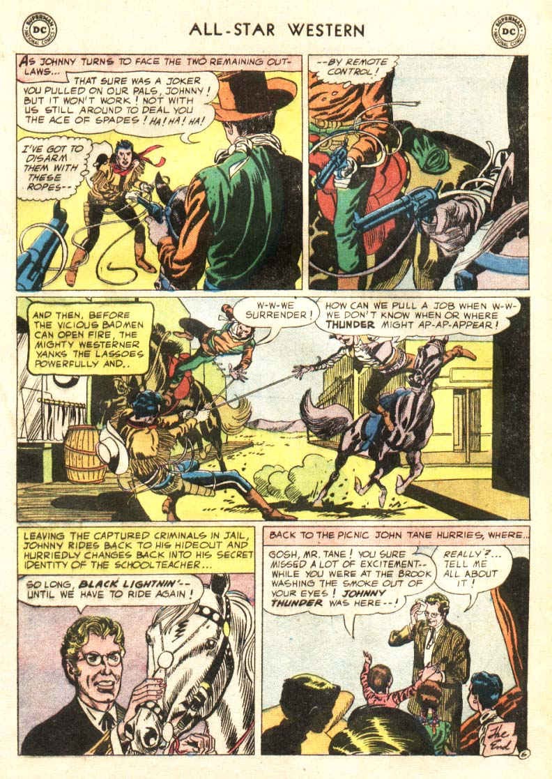 Read online All-Star Western (1951) comic -  Issue #91 - 25