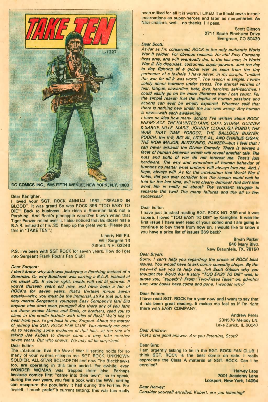 Read online Sgt. Rock comic -  Issue #374 - 32