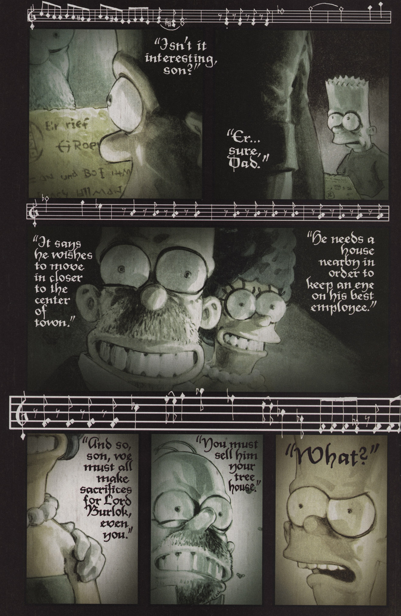 Read online Treehouse of Horror comic -  Issue #17 - 7