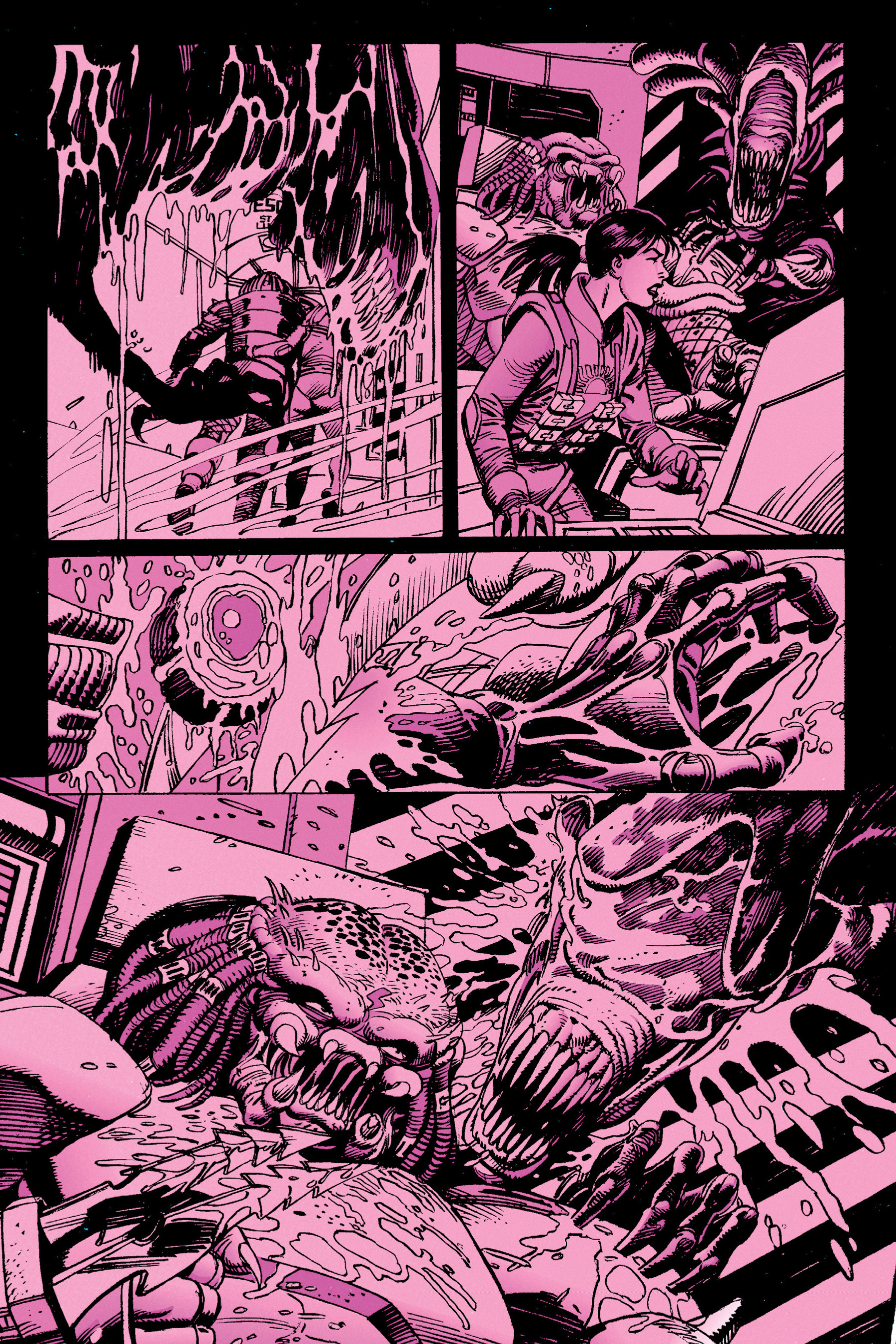 Read online Aliens vs. Predator Omnibus comic -  Issue # _TPB 1 Part 3 - 44