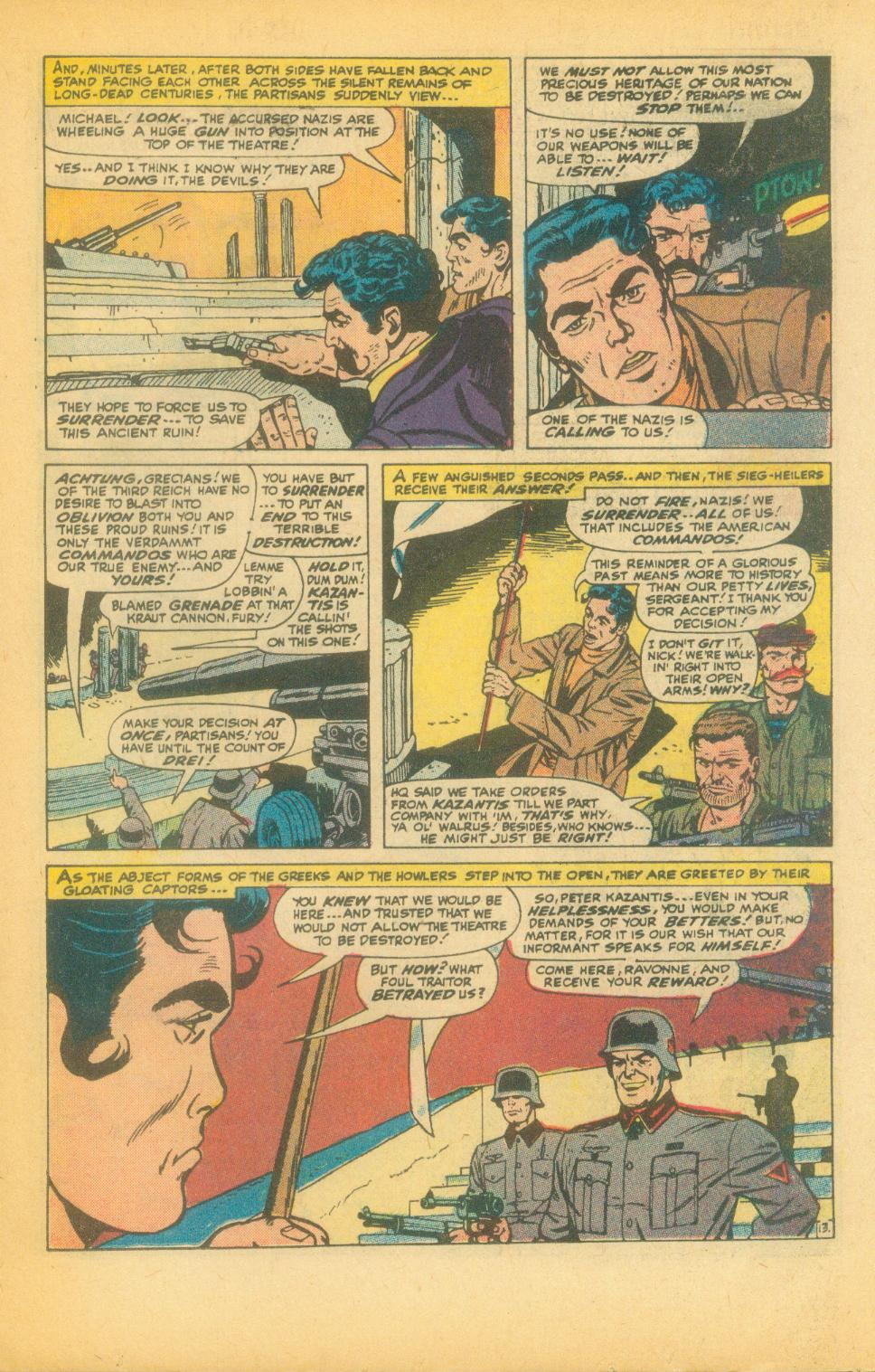 Read online Sgt. Fury comic -  Issue #99 - 19