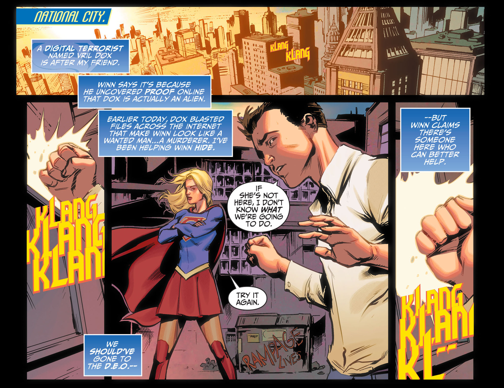 Read online Adventures of Supergirl comic -  Issue #5 - 3