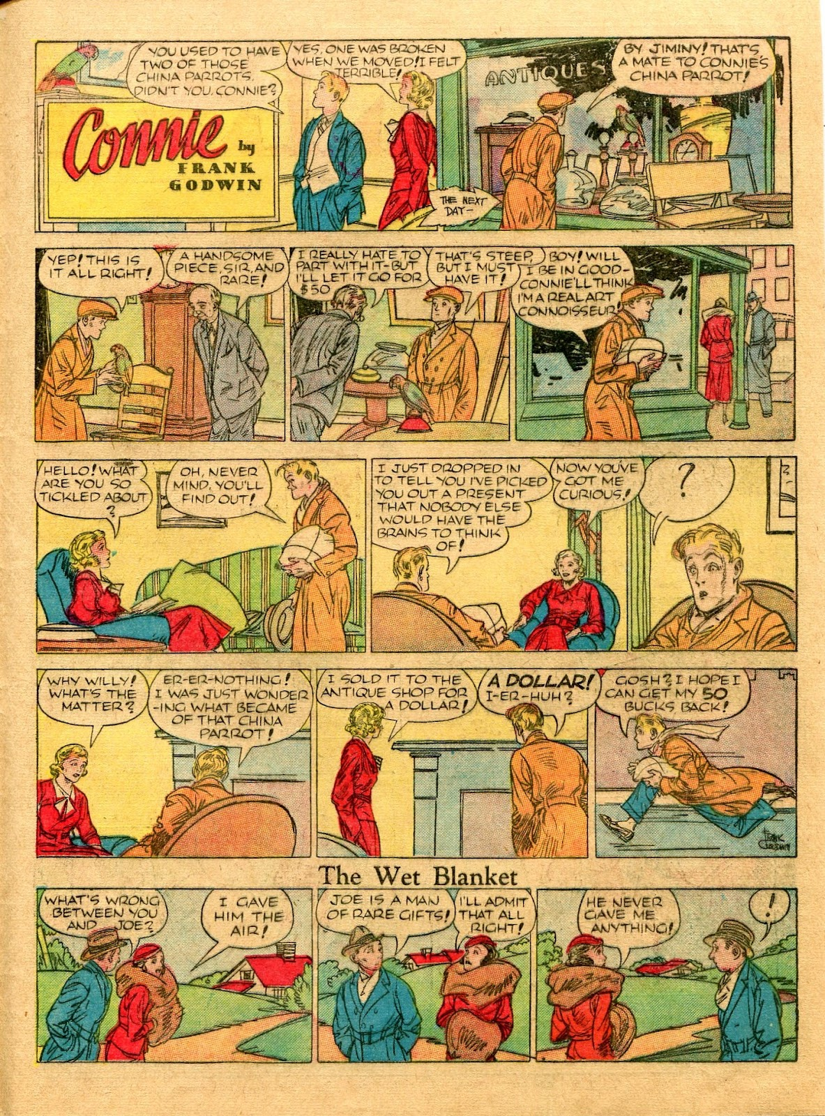Read online Famous Funnies comic -  Issue #56 - 57