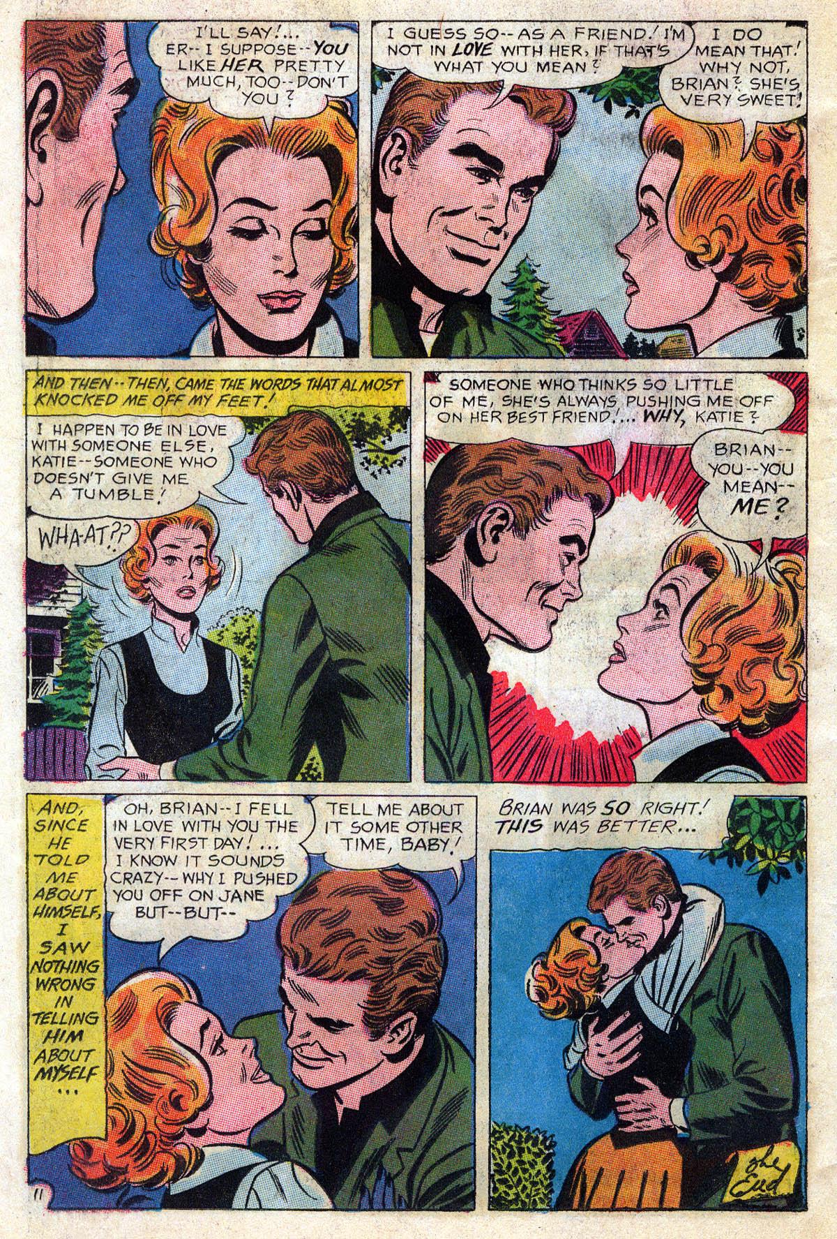 Read online Secret Hearts comic -  Issue #109 - 33