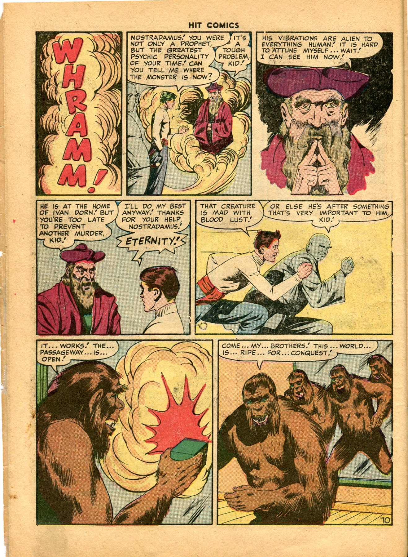 Read online Hit Comics comic -  Issue #49 - 12