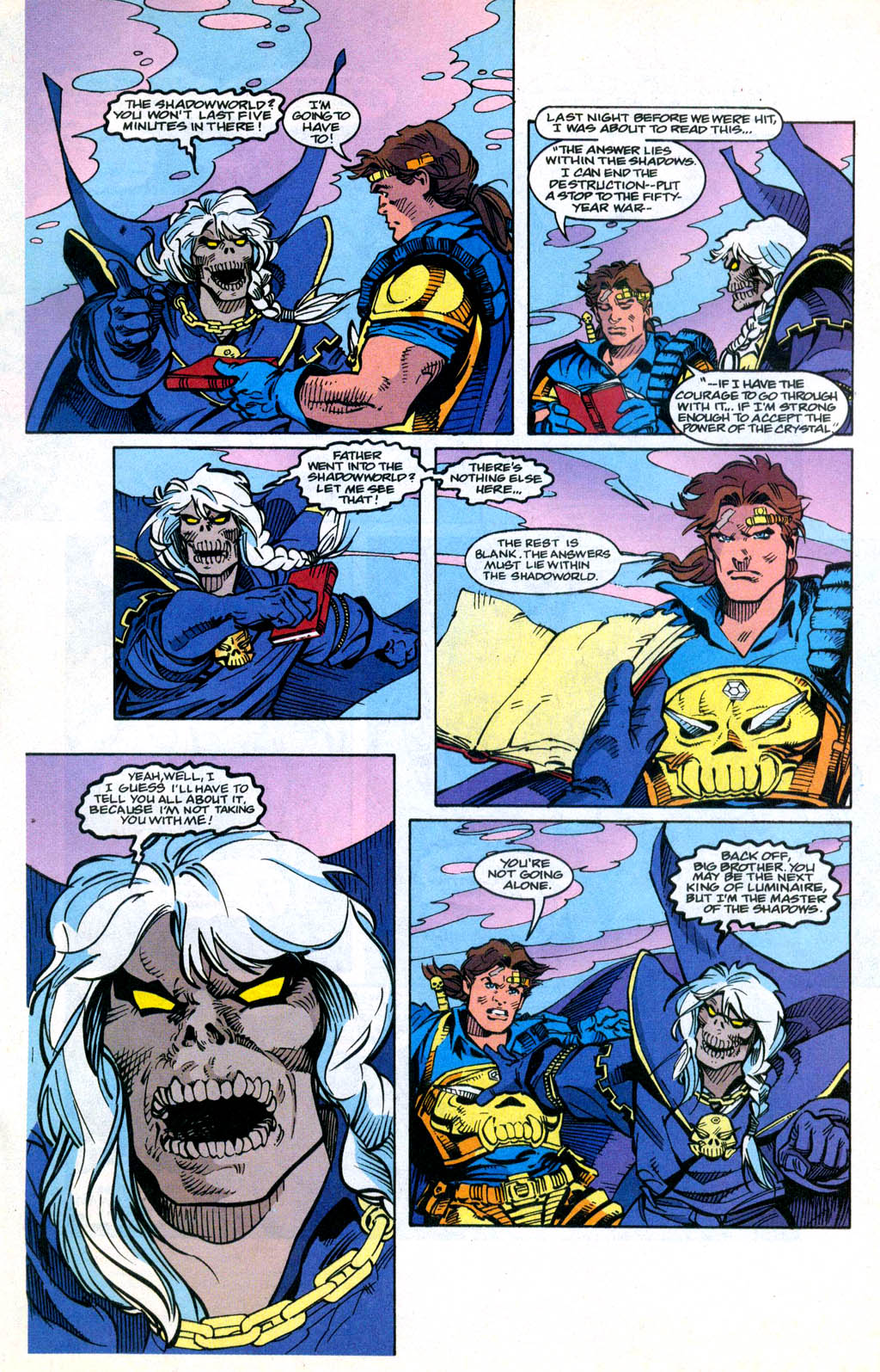 Skeleton Warriors Issue #3 #3 - English 12