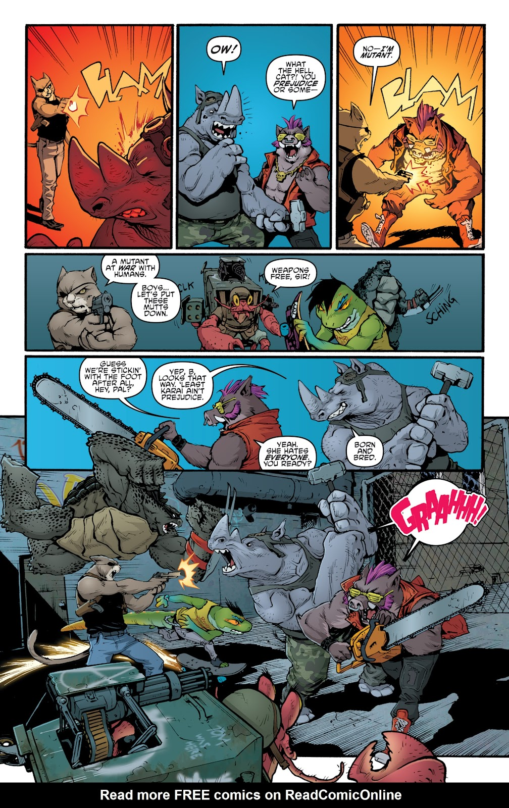 Read online Teenage Mutant Ninja Turtles: The IDW Collection comic -  Issue # TPB 5 (Part 2) - 44