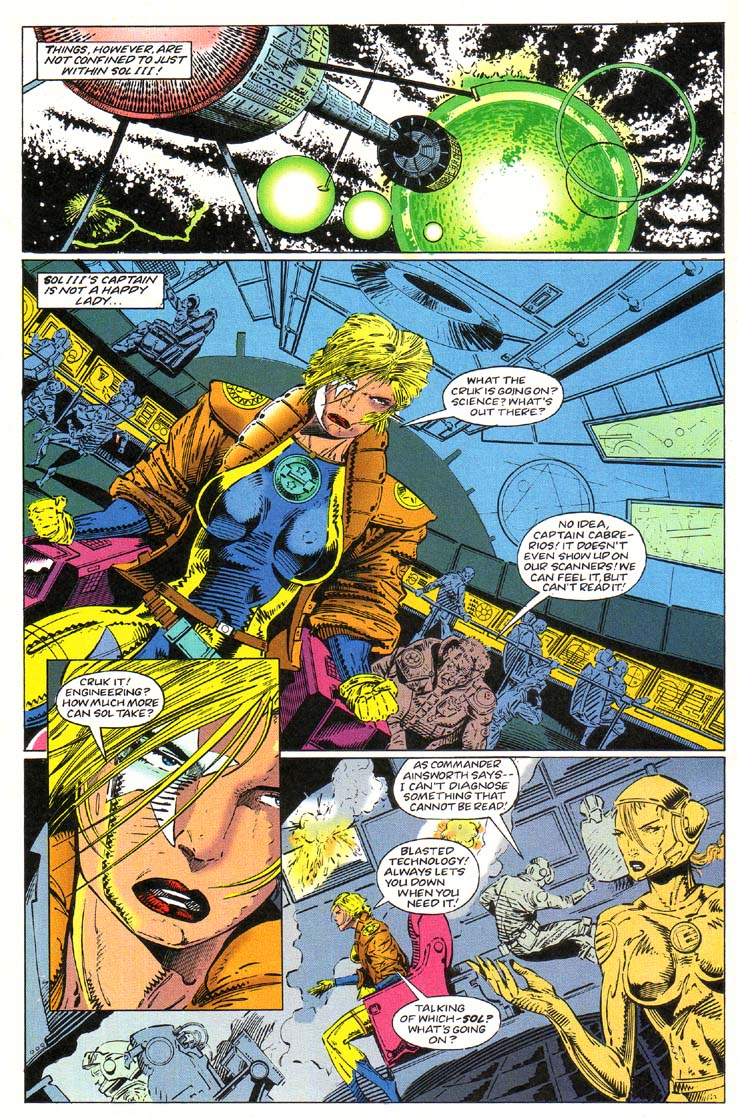 Read online Cyberspace 3000 comic -  Issue #1 - 3