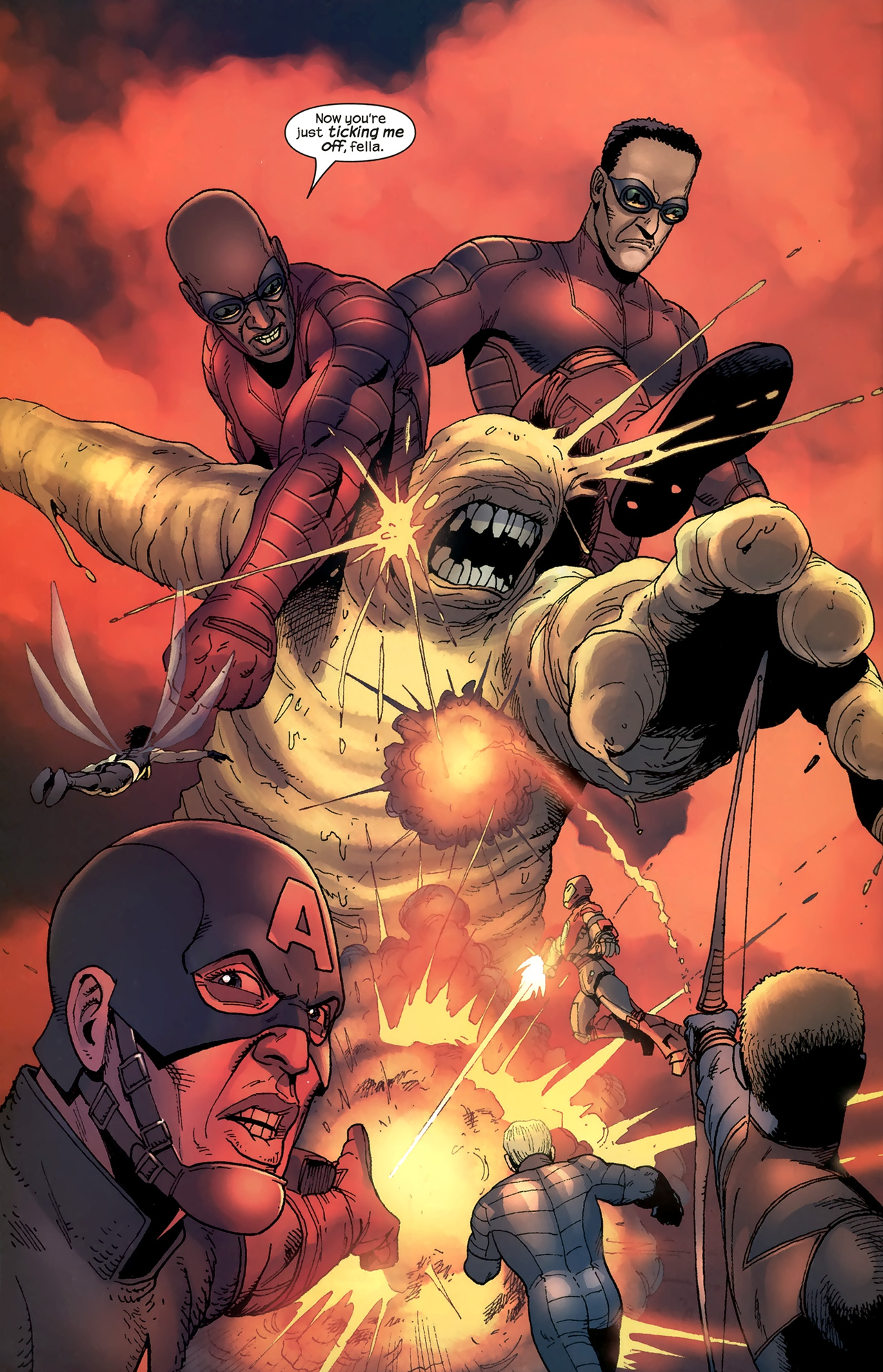 Read online Ultimates 2 comic -  Issue # _Annual 1 - 23