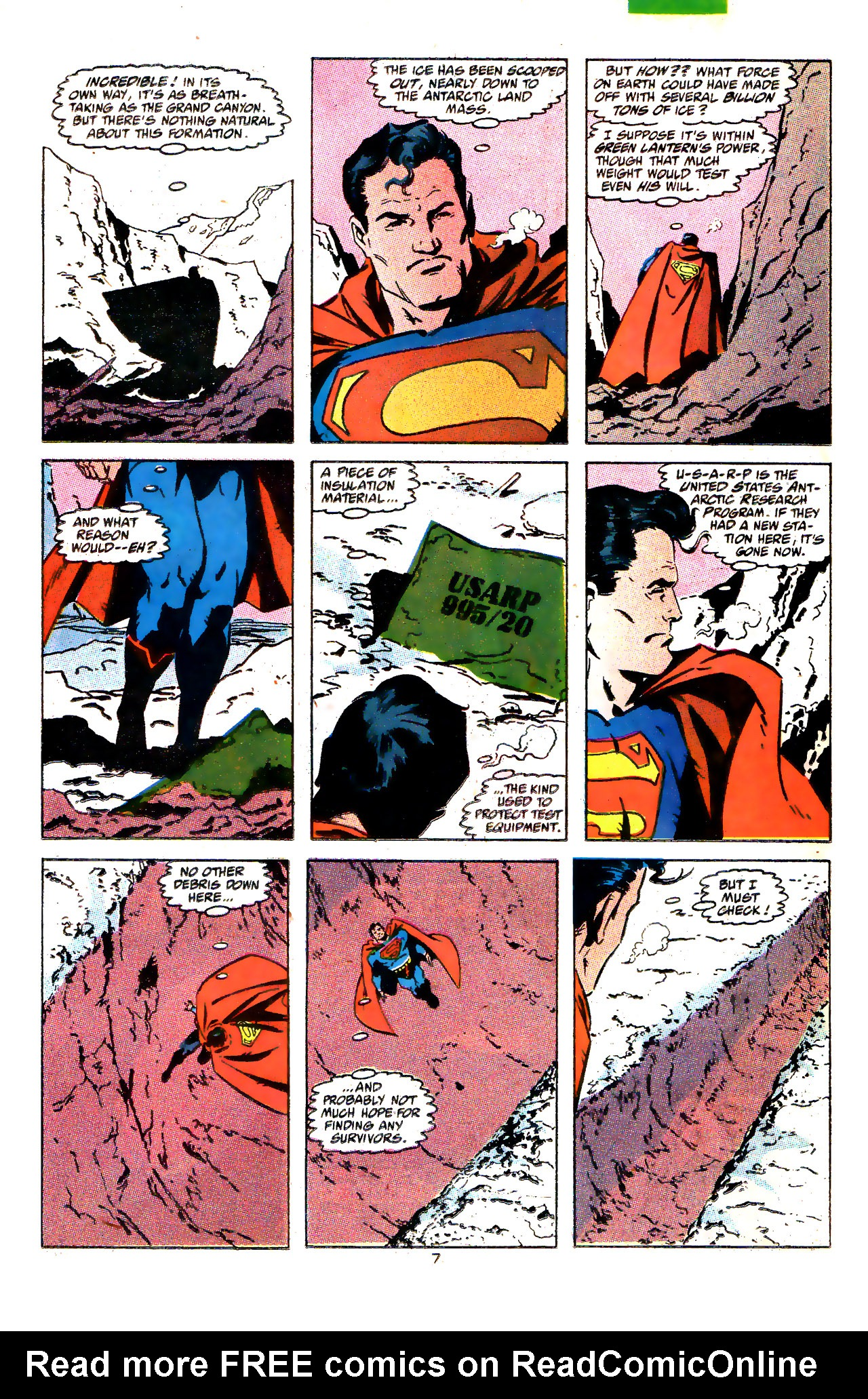 Read online Action Comics (1938) comic -  Issue #646 - 8