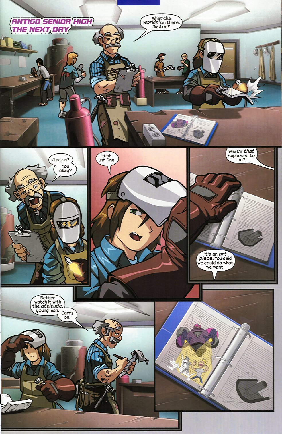 Read online Sentinel comic -  Issue #4 - 5