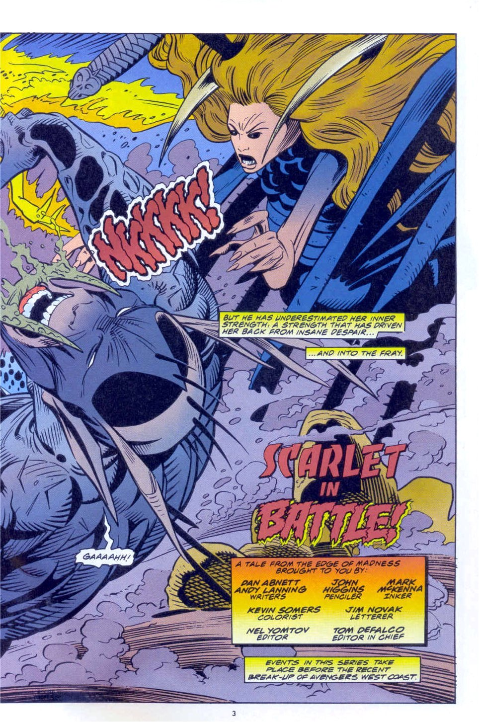Scarlet Witch (1994) Issue #3 #3 - English 5
