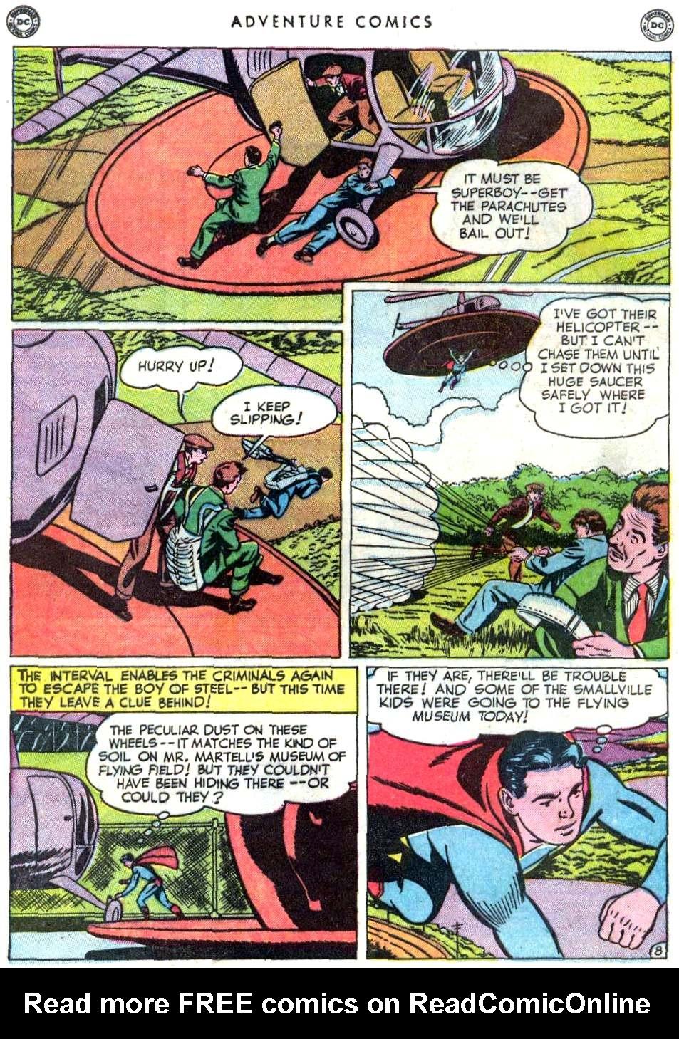 Read online Adventure Comics (1938) comic -  Issue #156 - 10