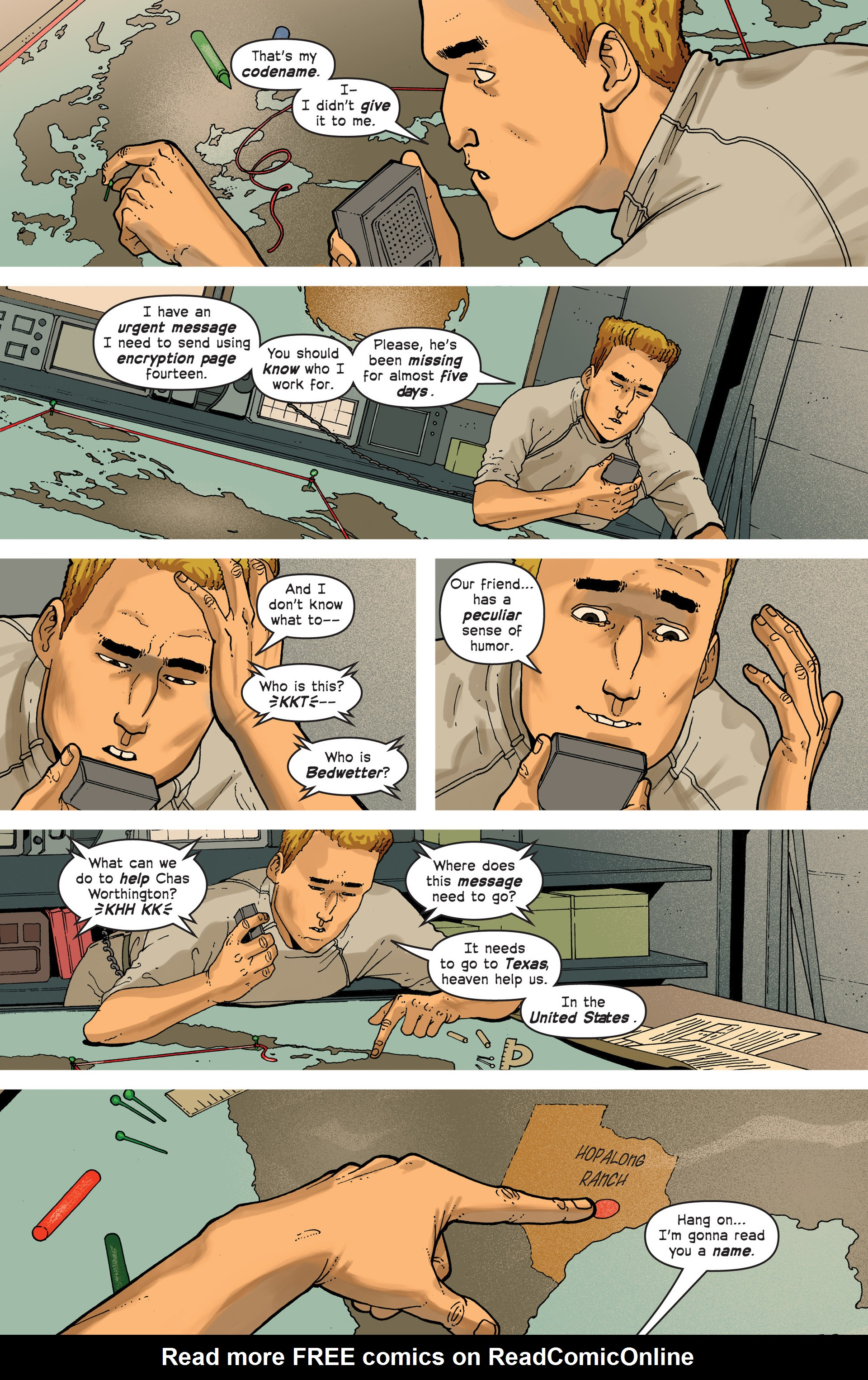 Read online Great Pacific comic -  Issue #3 - 10