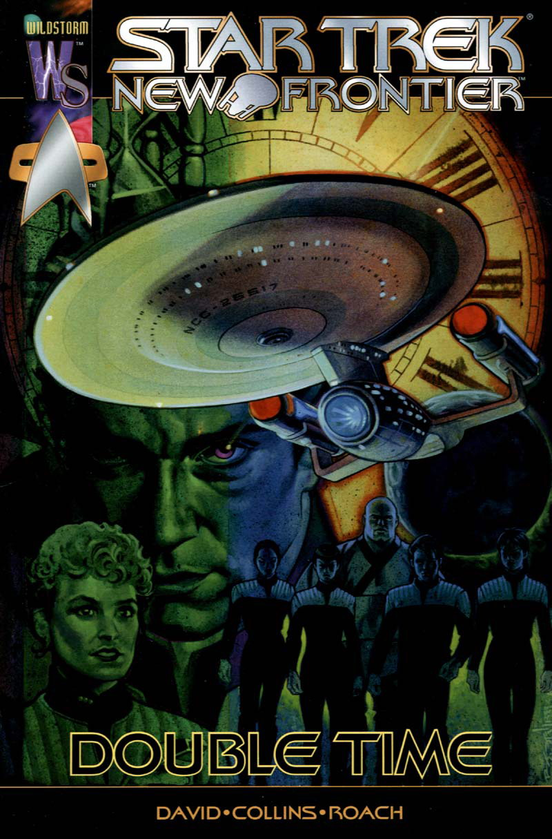 Star Trek: New Frontier - Double Time issue Full - Page 1
