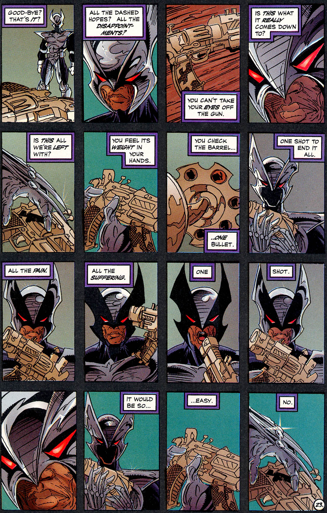 Read online ShadowHawk comic -  Issue #17 - 22