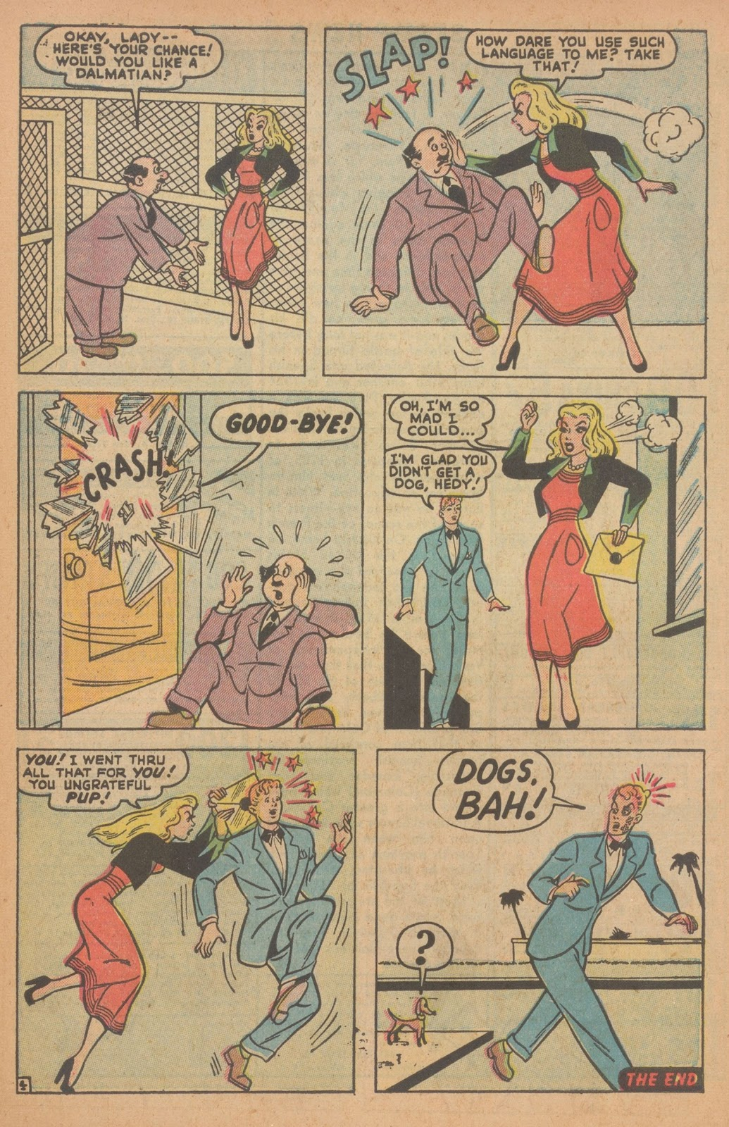 Read online Nellie The Nurse (1945) comic -  Issue #22 - 39