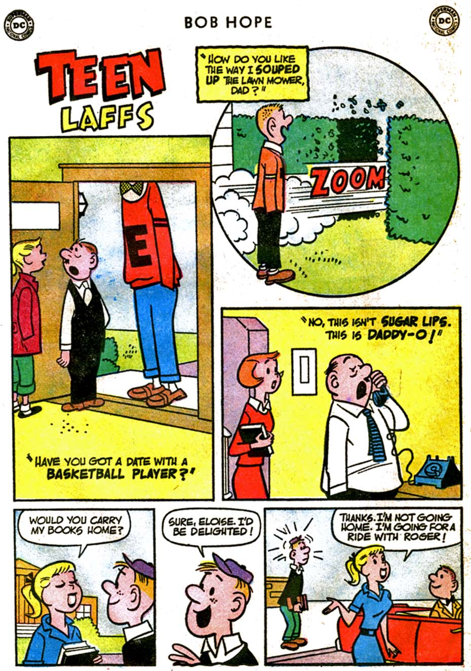 The Adventures of Bob Hope issue 92 - Page 22