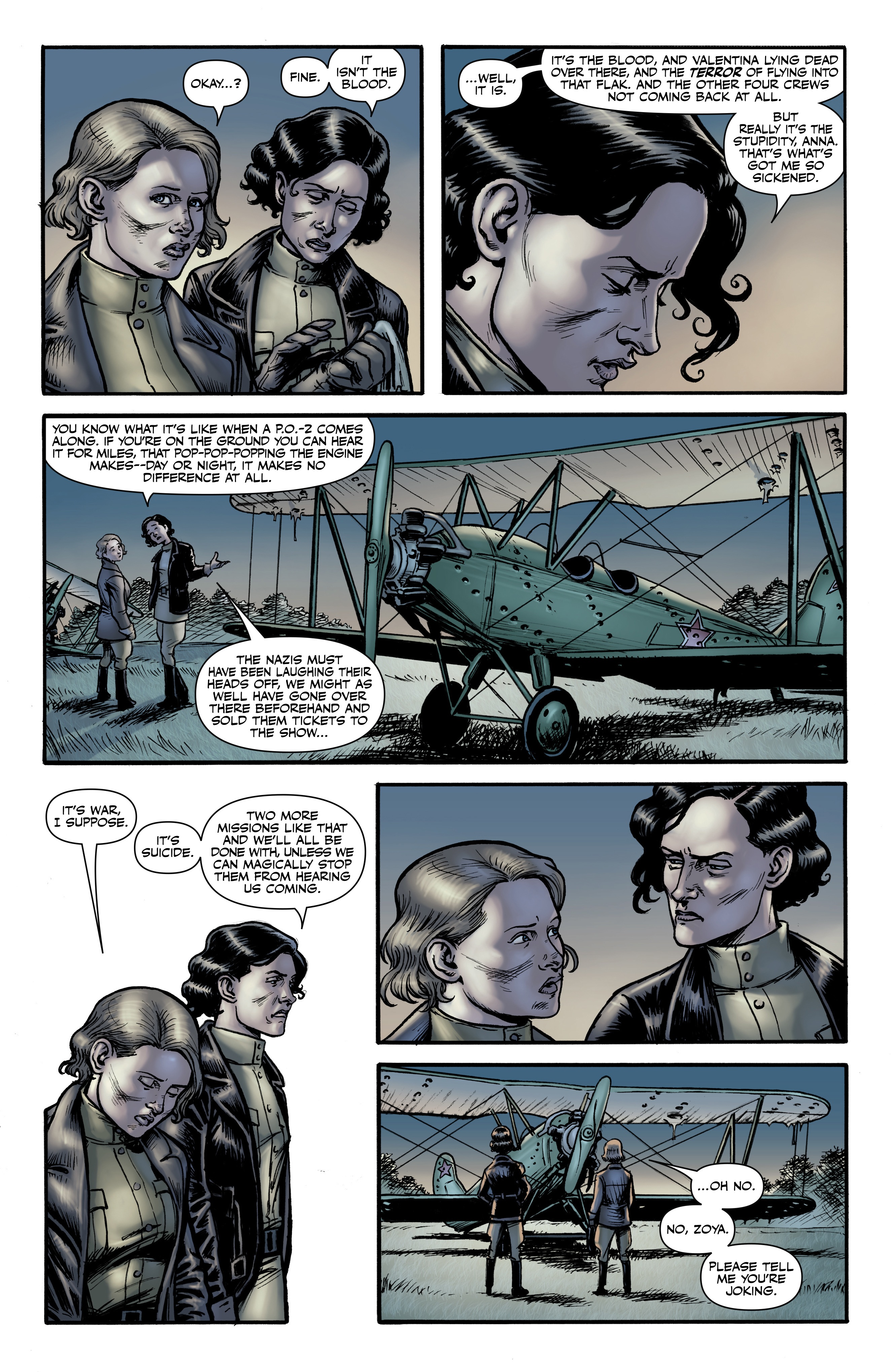Read online Battlefields: Night Witches comic -  Issue # TPB - 22