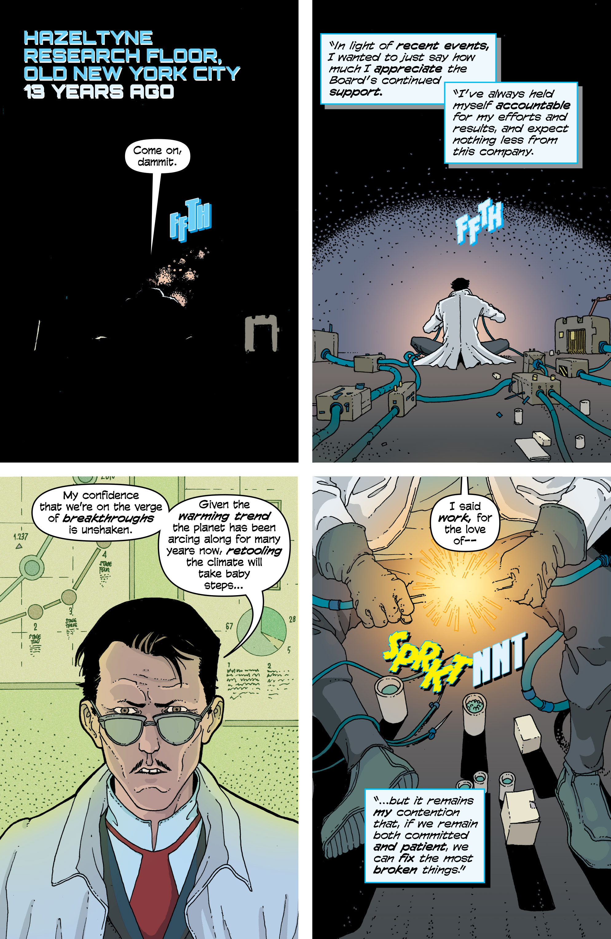 Read online Snowfall comic -  Issue #4 - 3
