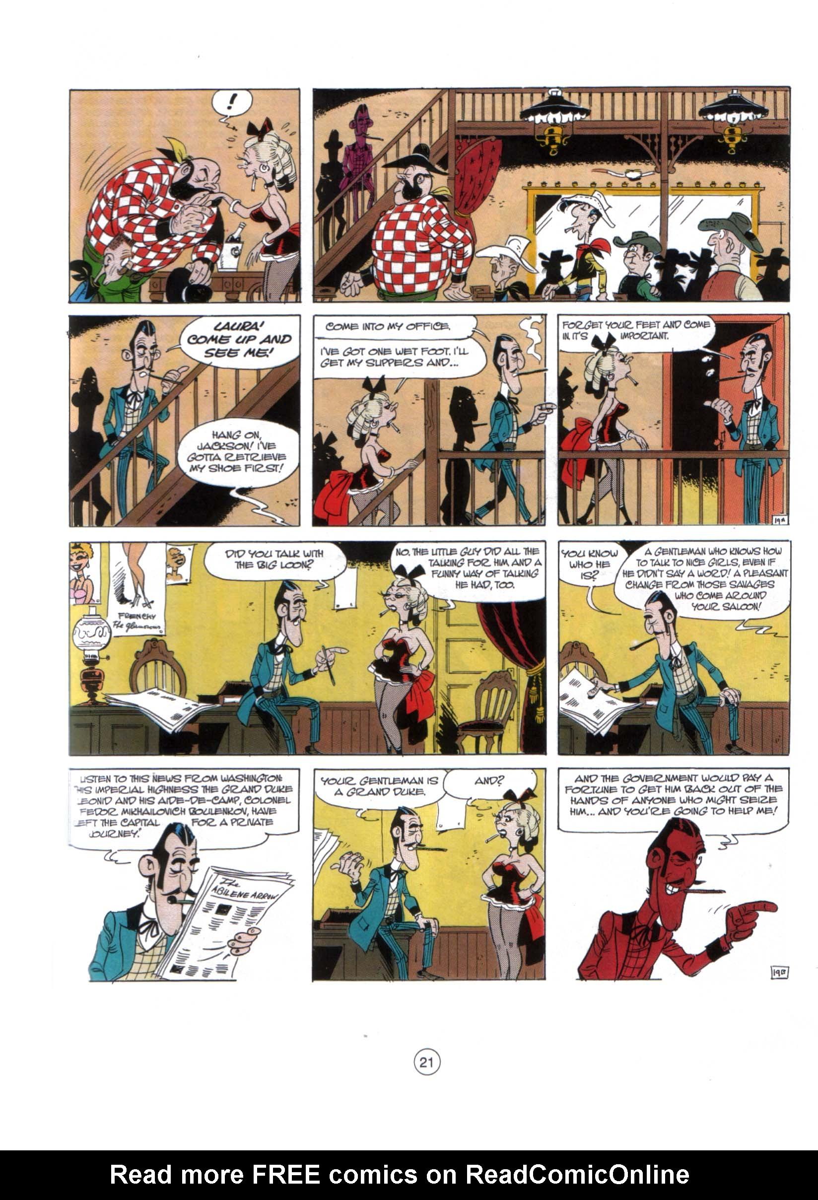 A Lucky Luke Adventure 29 Page 19