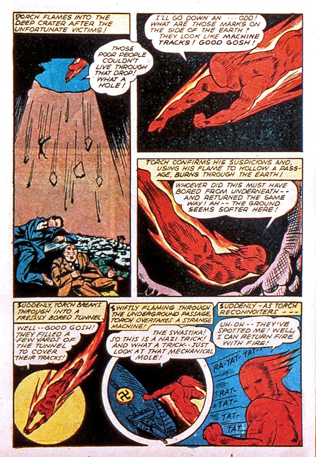 Read online Mystic Comics (1944) comic -  Issue #1 - 21