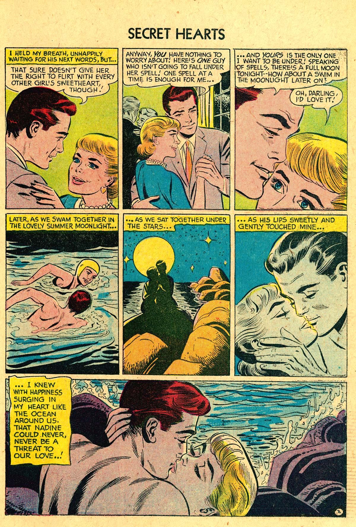 Read online Secret Hearts comic -  Issue #40 - 19