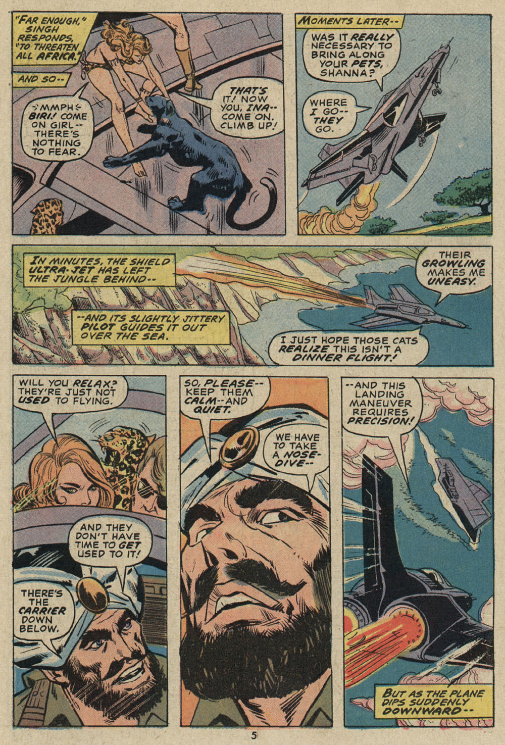 Shanna, the She-Devil (1972) issue 5 - Page 5