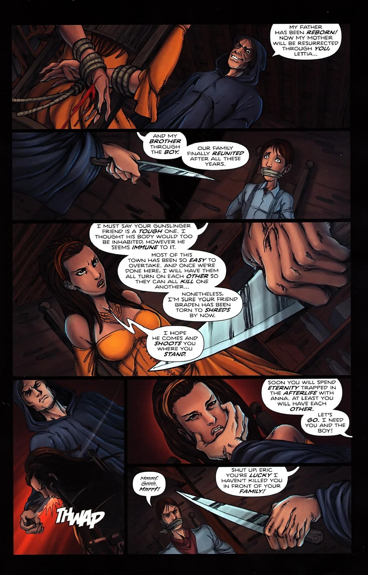 Read online Salem's Daughter: The Haunting comic -  Issue #5 - 17