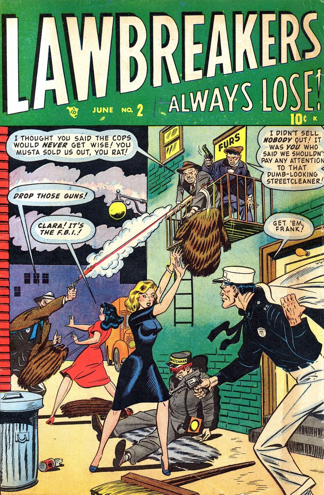 Lawbreakers Always Lose! 2 Page 1