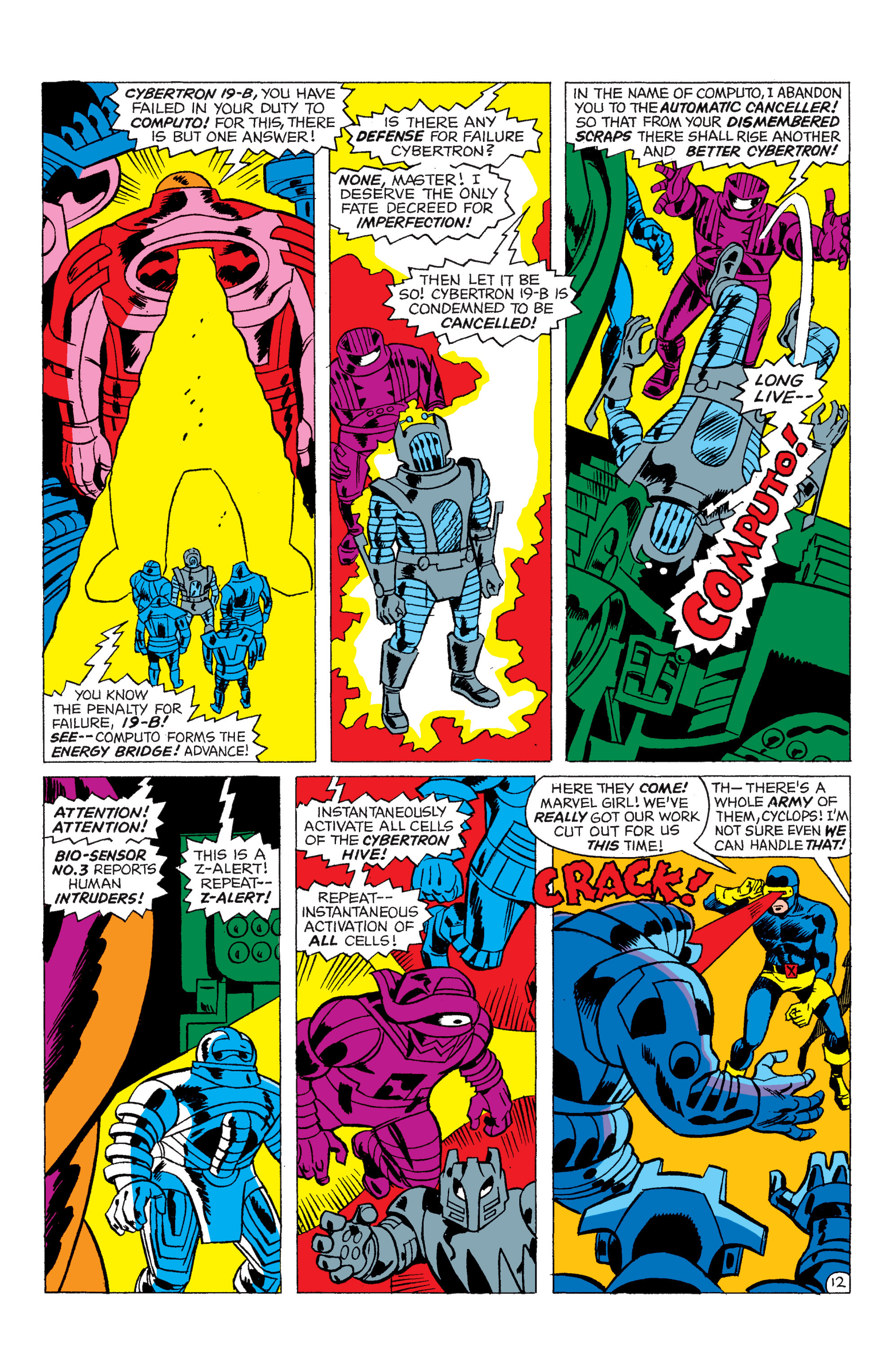 Read online Uncanny X-Men (1963) comic -  Issue #48 - 13
