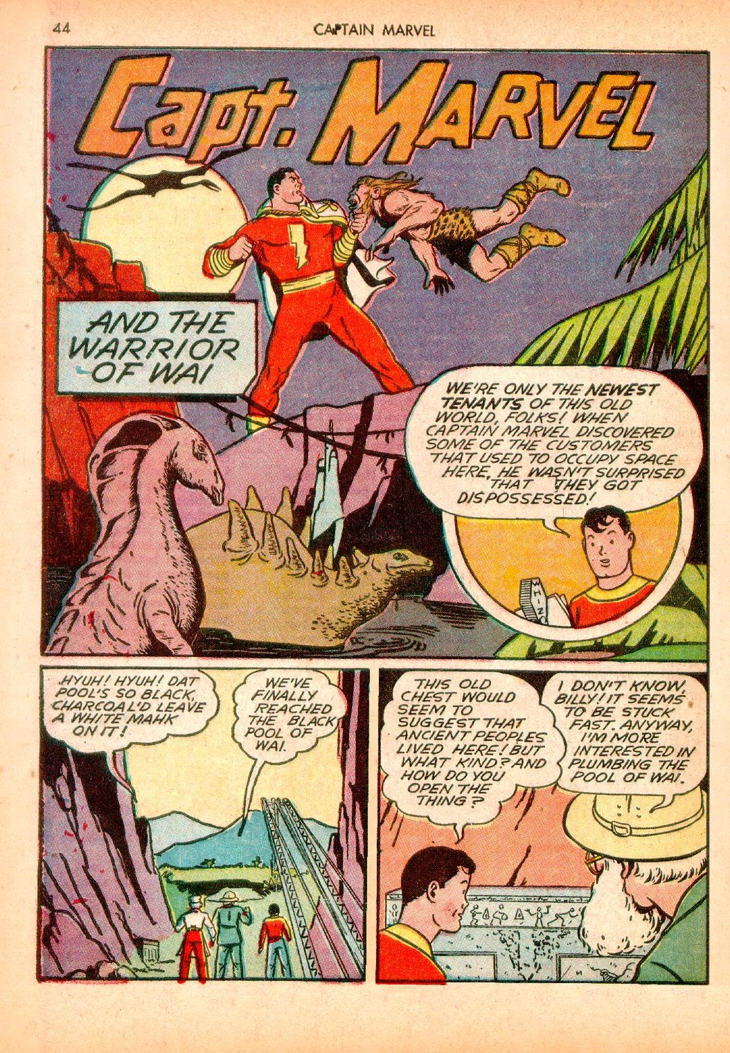 Captain Marvel Adventures issue 10 - Page 44