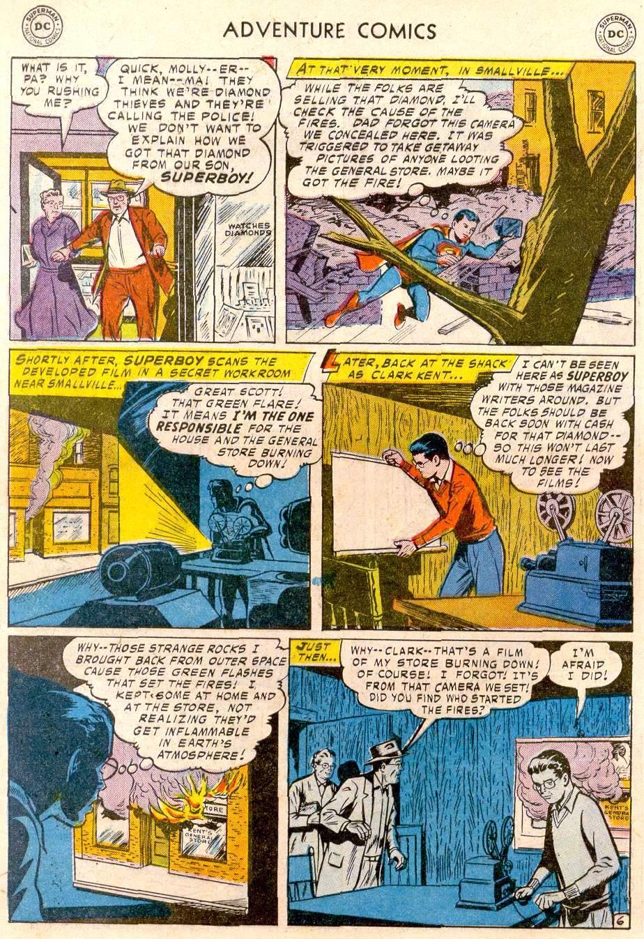 Read online Adventure Comics (1938) comic -  Issue #244 - 8
