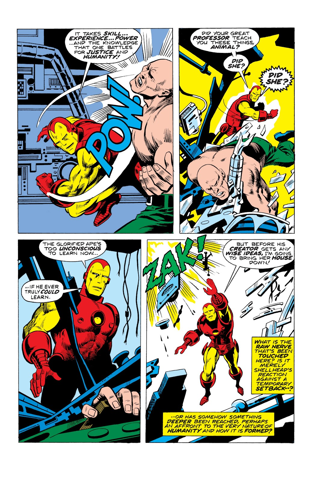 Read online Marvel Masterworks: The Invincible Iron Man comic -  Issue # TPB 10 (Part 3) - 10