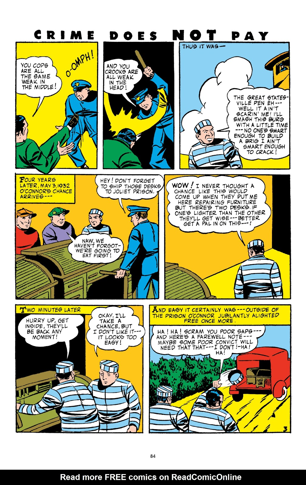 Read online Crime Does Not Pay Archives comic -  Issue # TPB 3 (Part 1) - 84