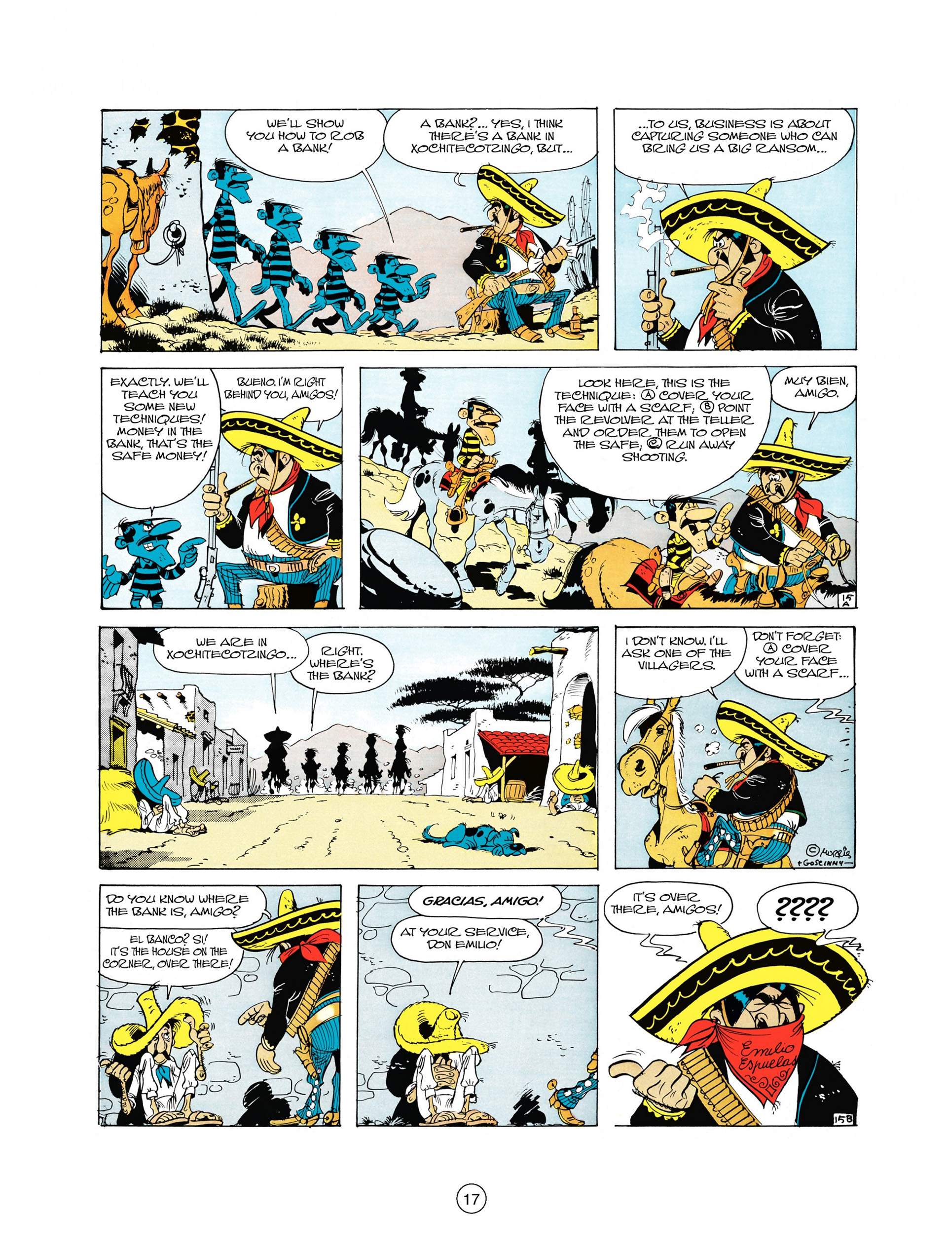 Read online A Lucky Luke Adventure comic -  Issue #10 - 17
