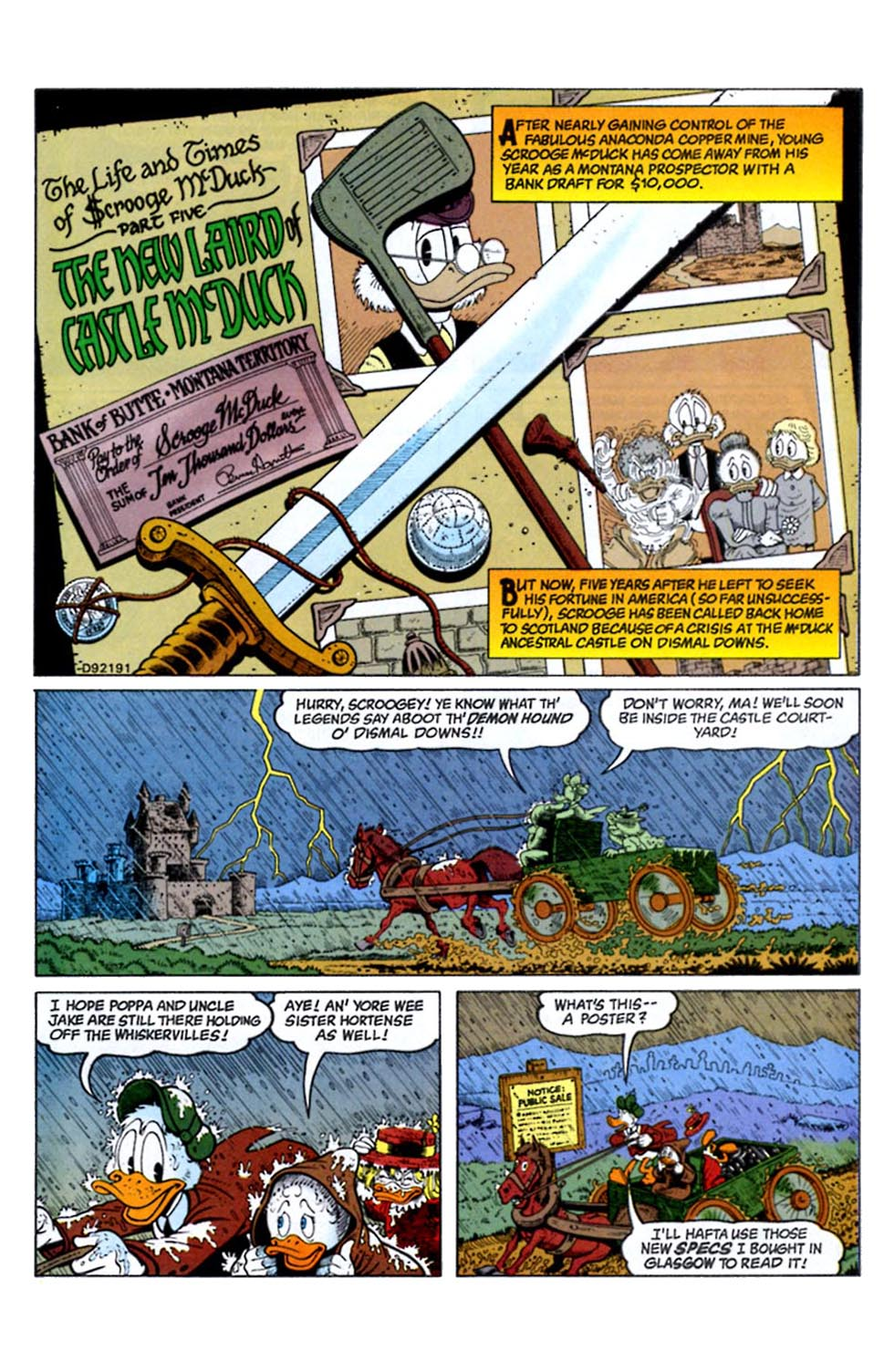 Read online Uncle Scrooge (1953) comic -  Issue #289 - 3