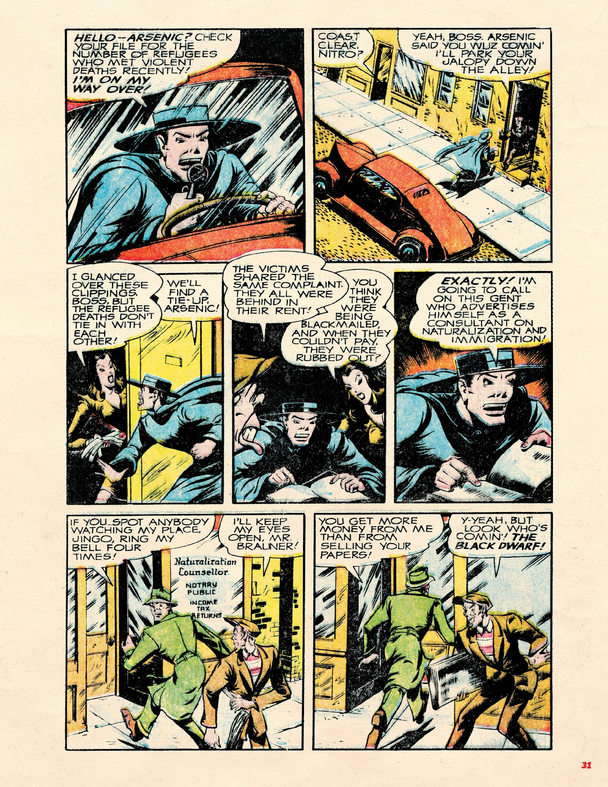 Read online Super Weird Heroes comic -  Issue # TPB 2 (Part 1) - 31