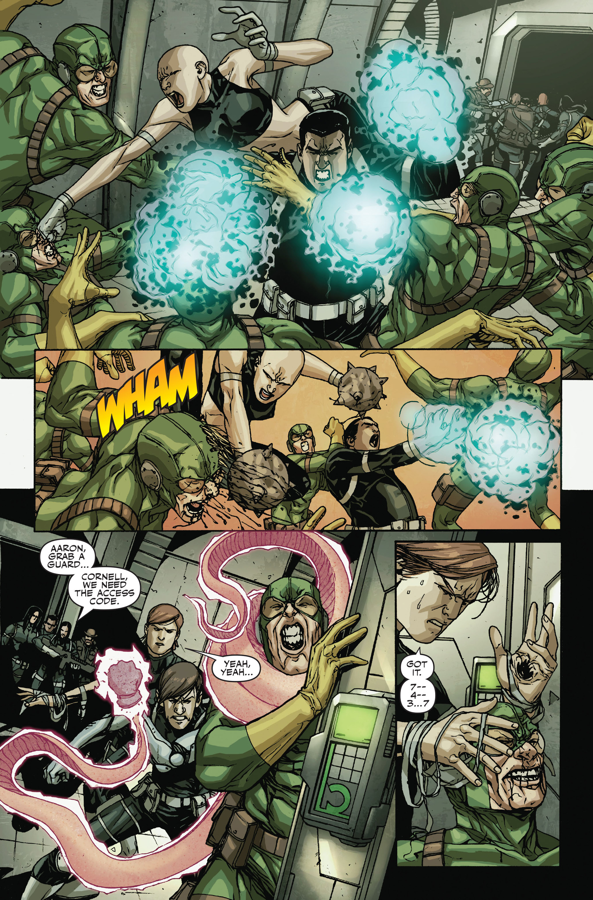 Read online Secret Warriors comic -  Issue #18 - 7