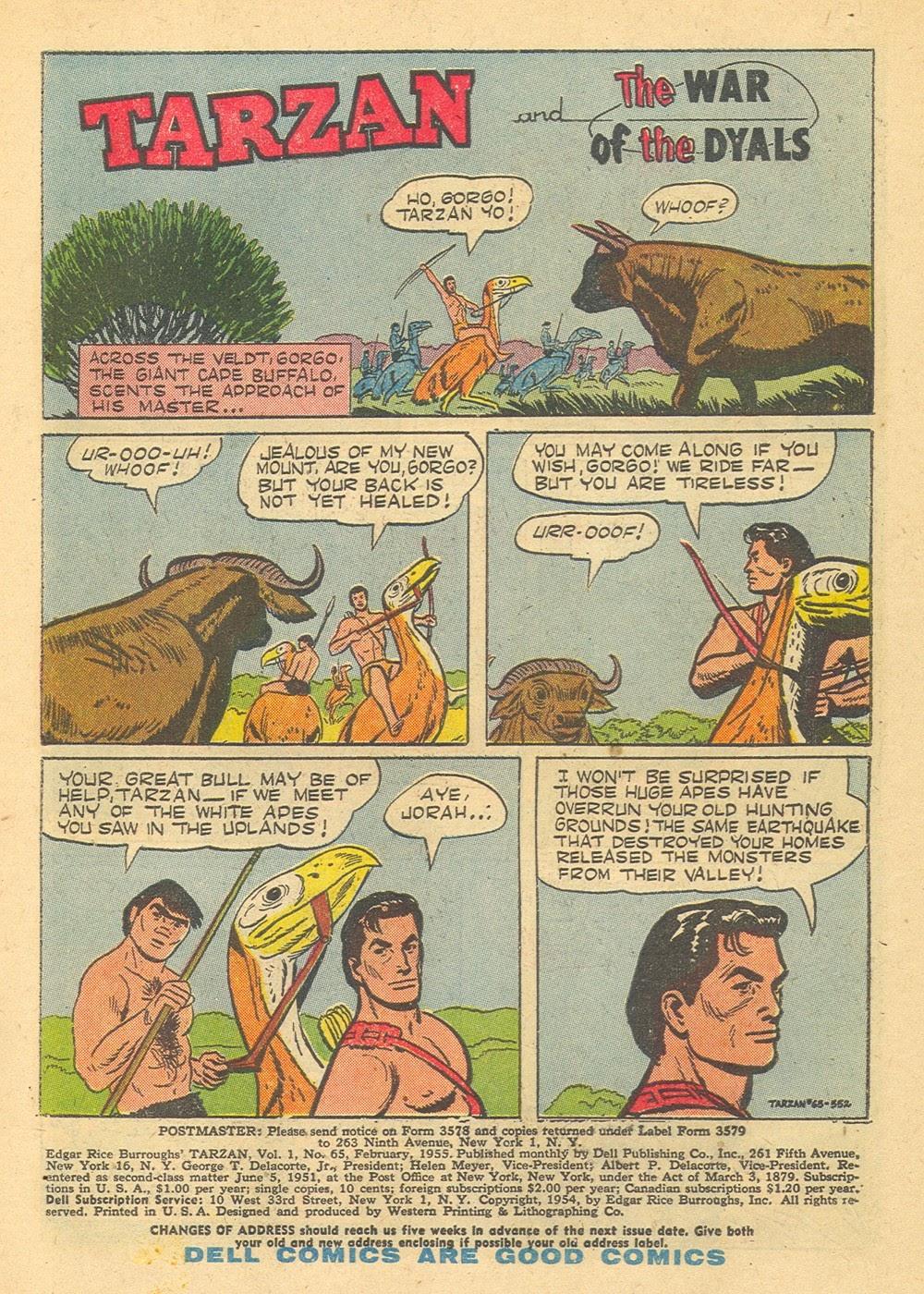 Tarzan (1948) issue 65 - Page 3