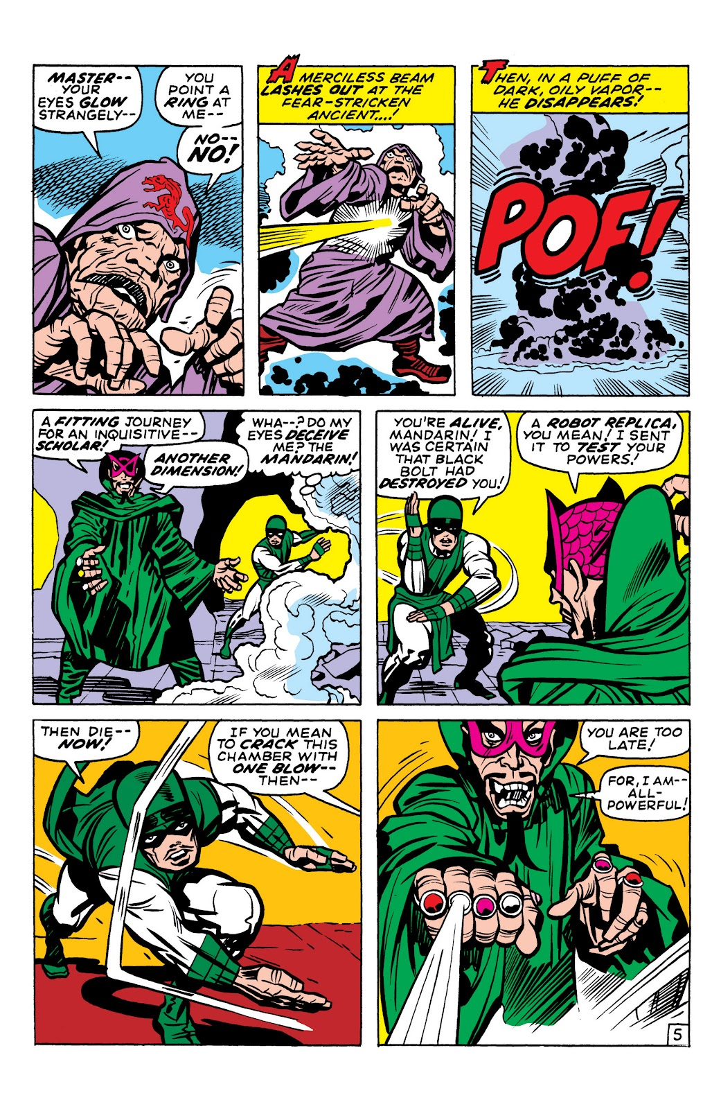 Read online Marvel Masterworks: The Inhumans comic -  Issue # TPB 1 (Part 2) - 7