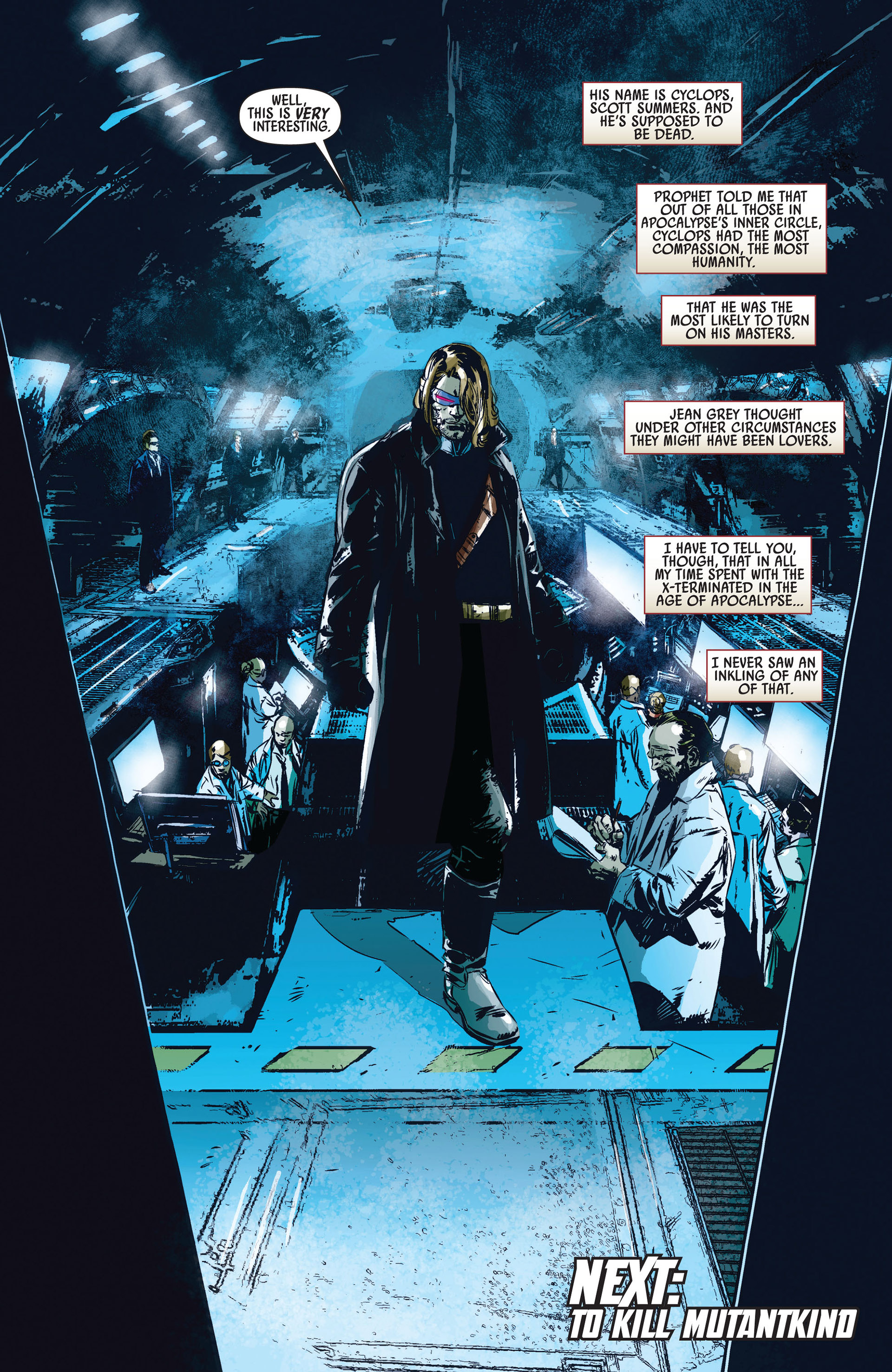 Read online Age of Apocalypse (2012) comic -  Issue #1 - 21
