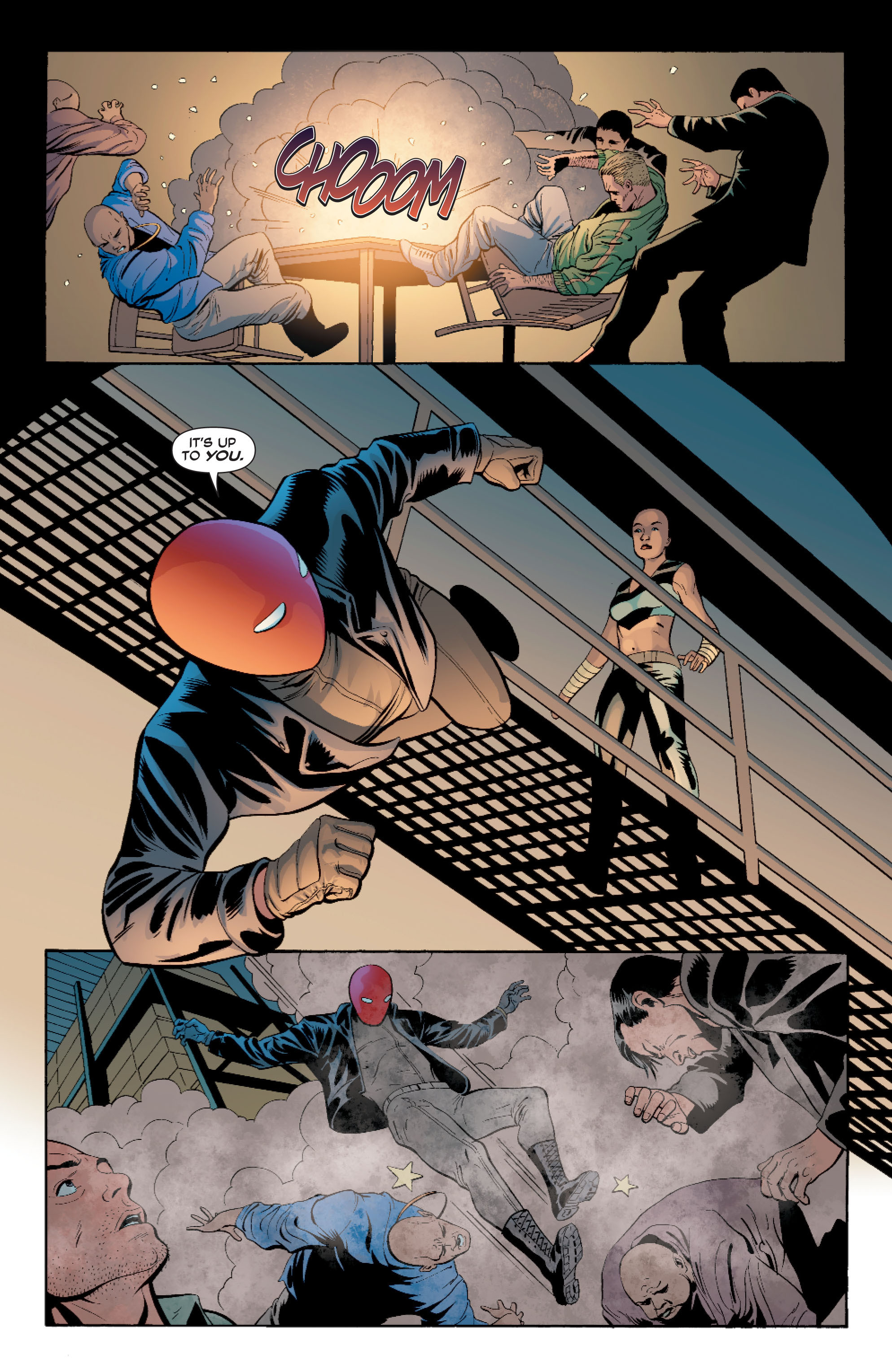 Read online Batman: Under The Red Hood comic -  Issue # Full - 140