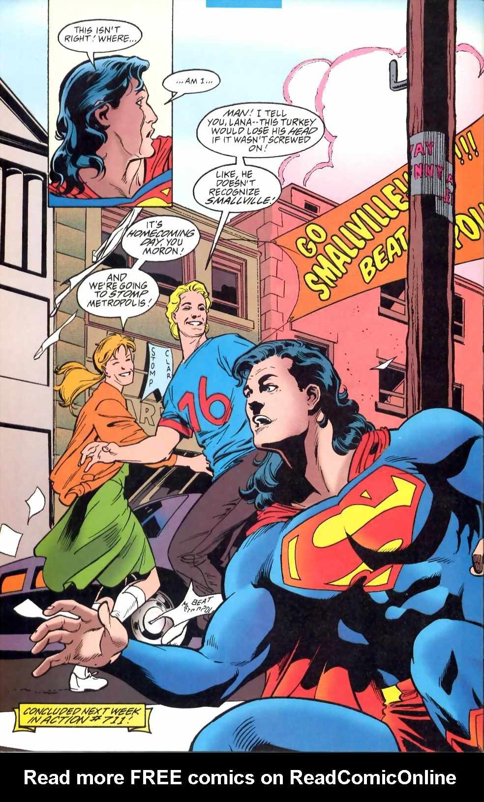 Read online Adventures of Superman (1987) comic -  Issue #524 - 23