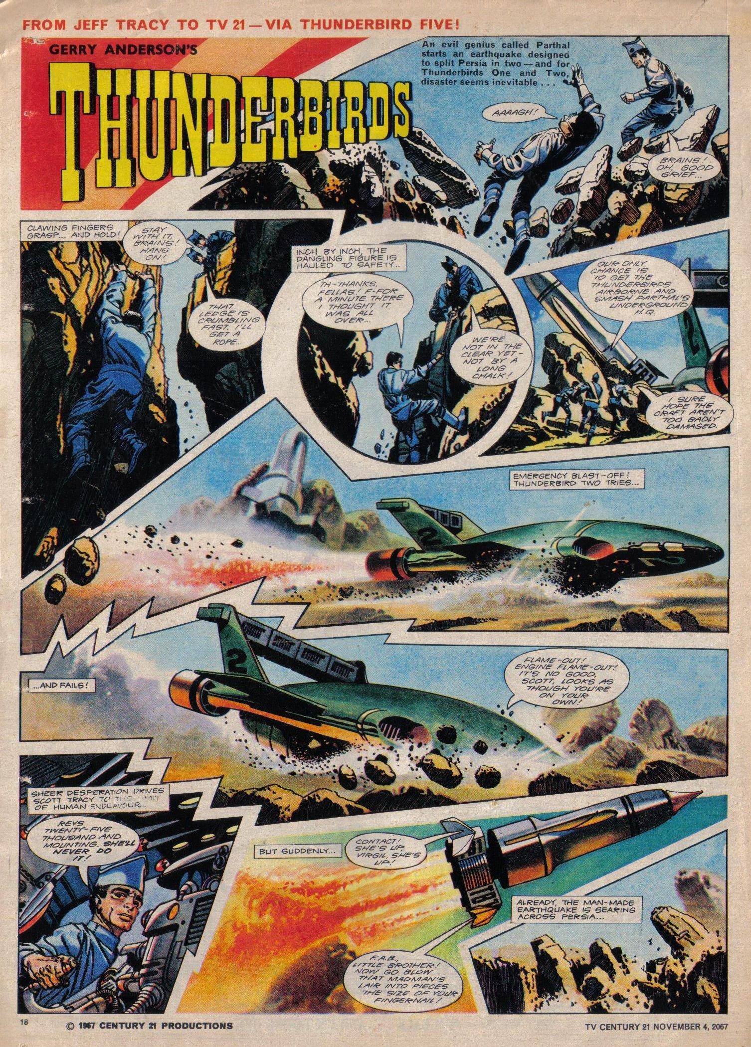 Read online TV Century 21 (TV 21) comic -  Issue #146 - 17