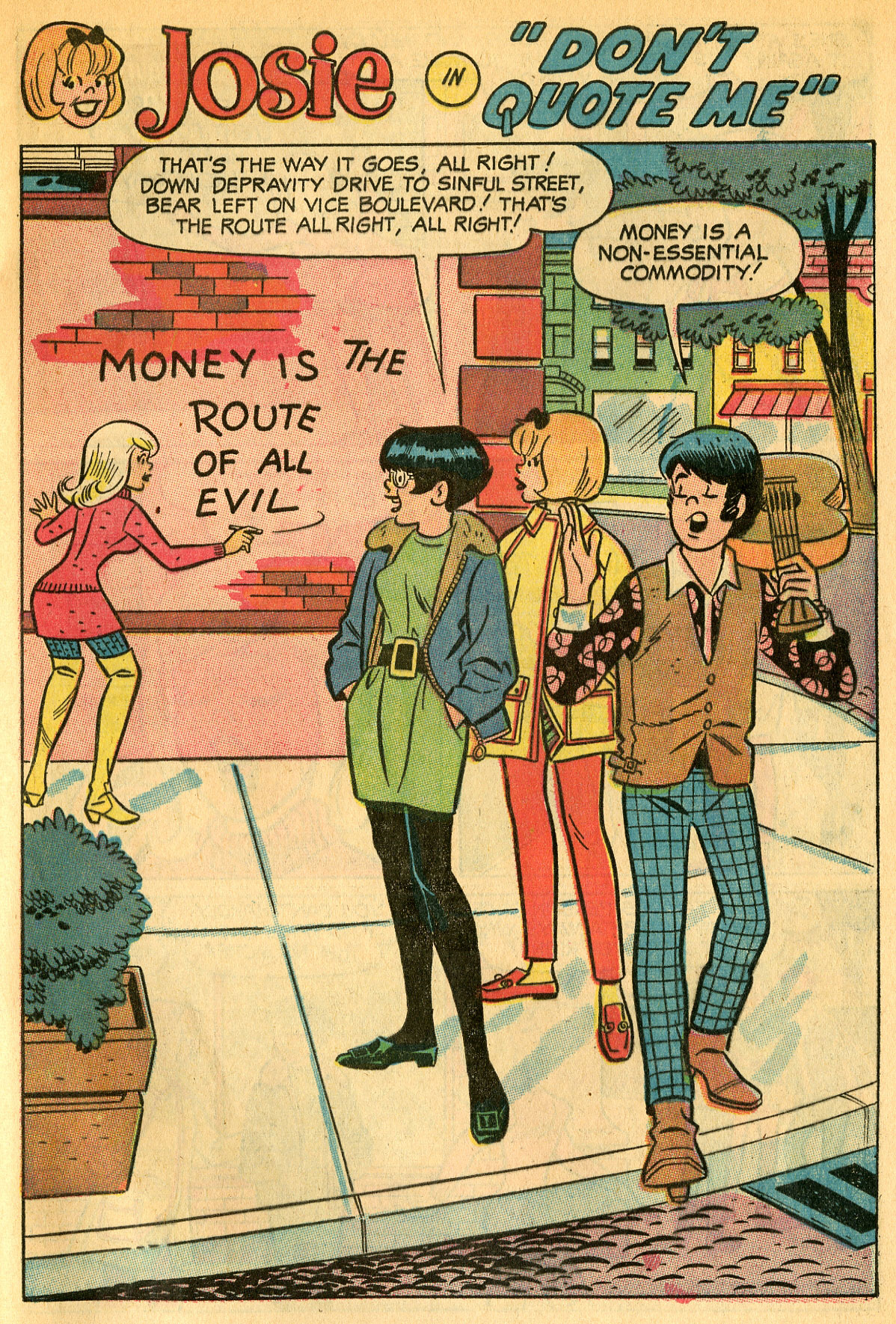 Read online She's Josie comic -  Issue #33 - 29